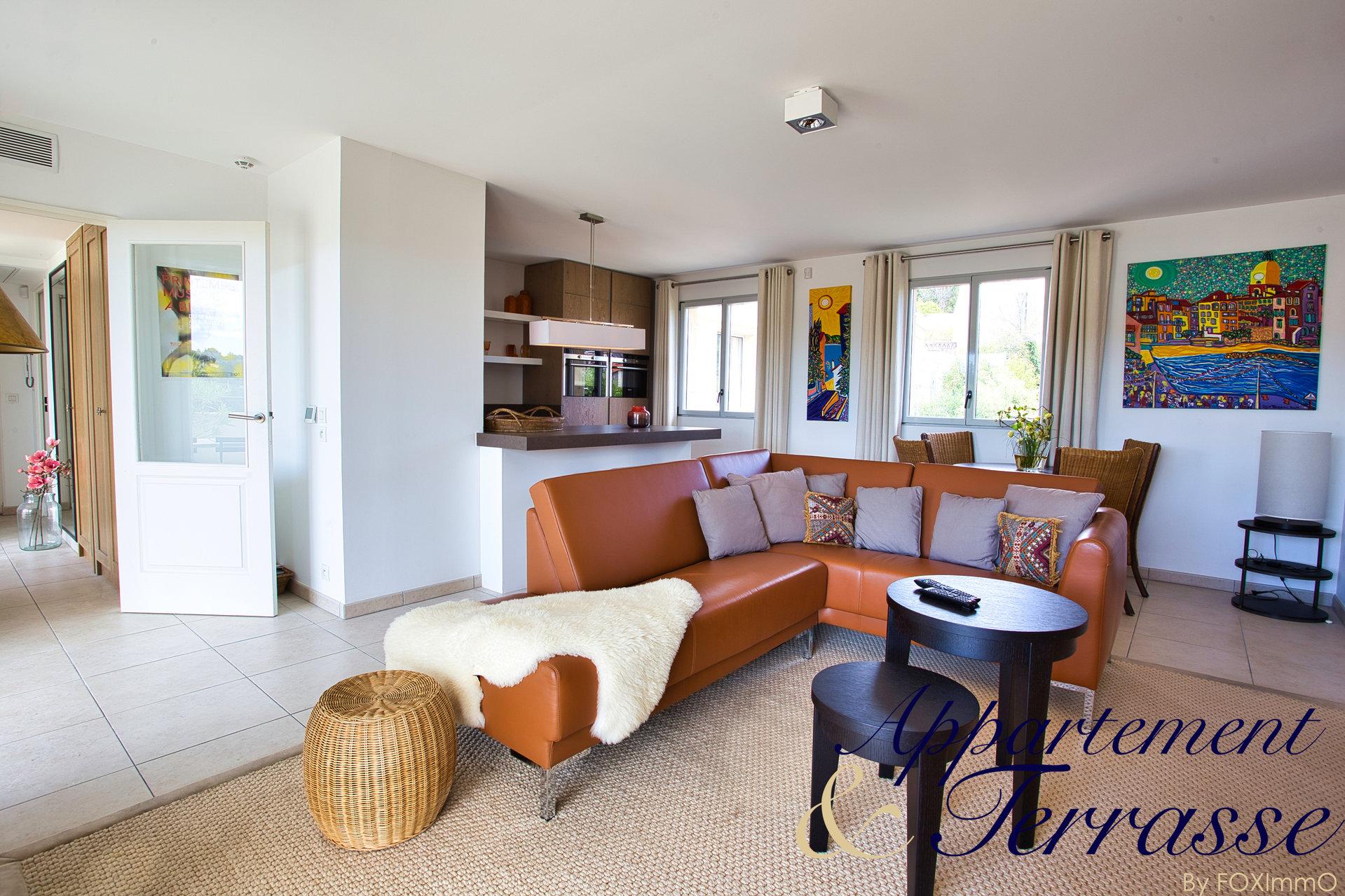 Penthouse Panoramic Sea View Biot Village