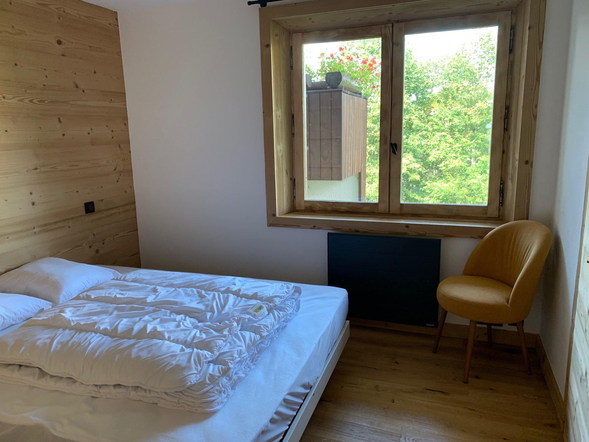 MEGEVE LE TOUR - Appartement 46m² / Pied de piste