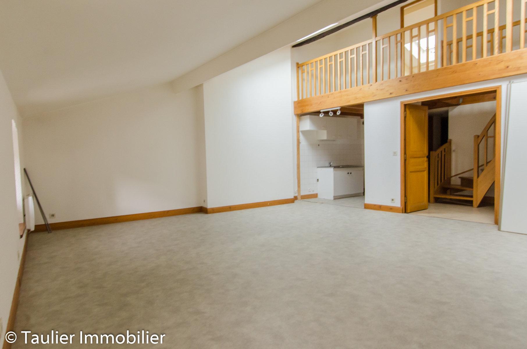 T3 Duplex 3ème étage P