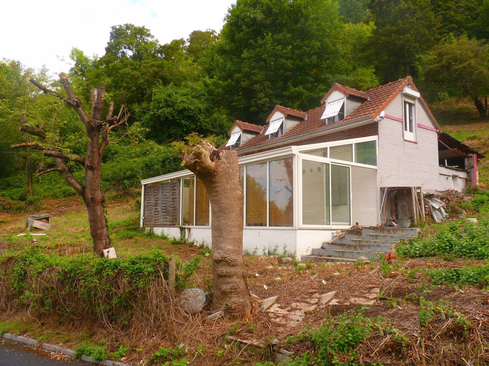 AMFREVILLE-LA-MIVOIE maison avec vue dégagée