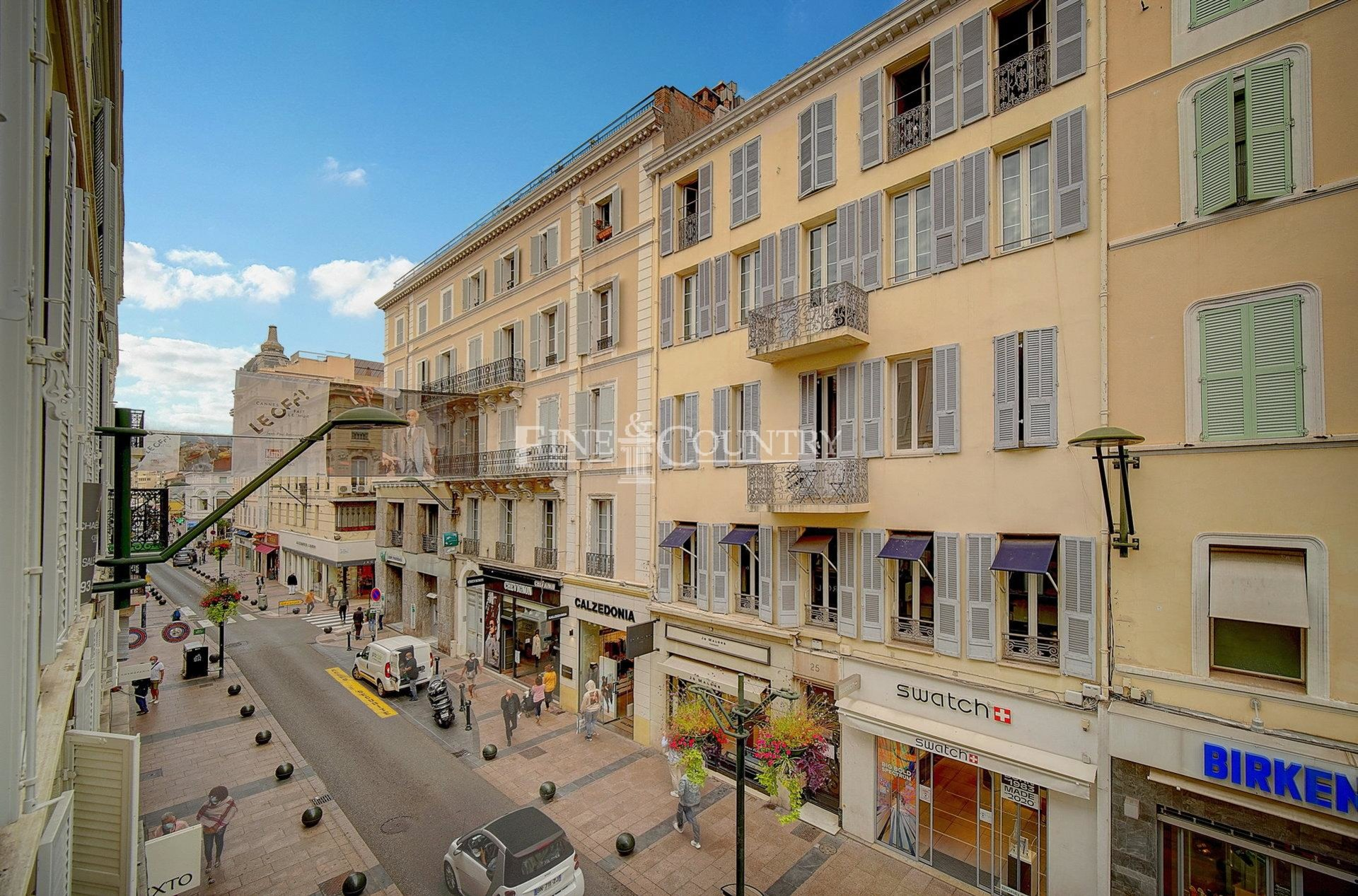 Vente appartement rue d'Antibes