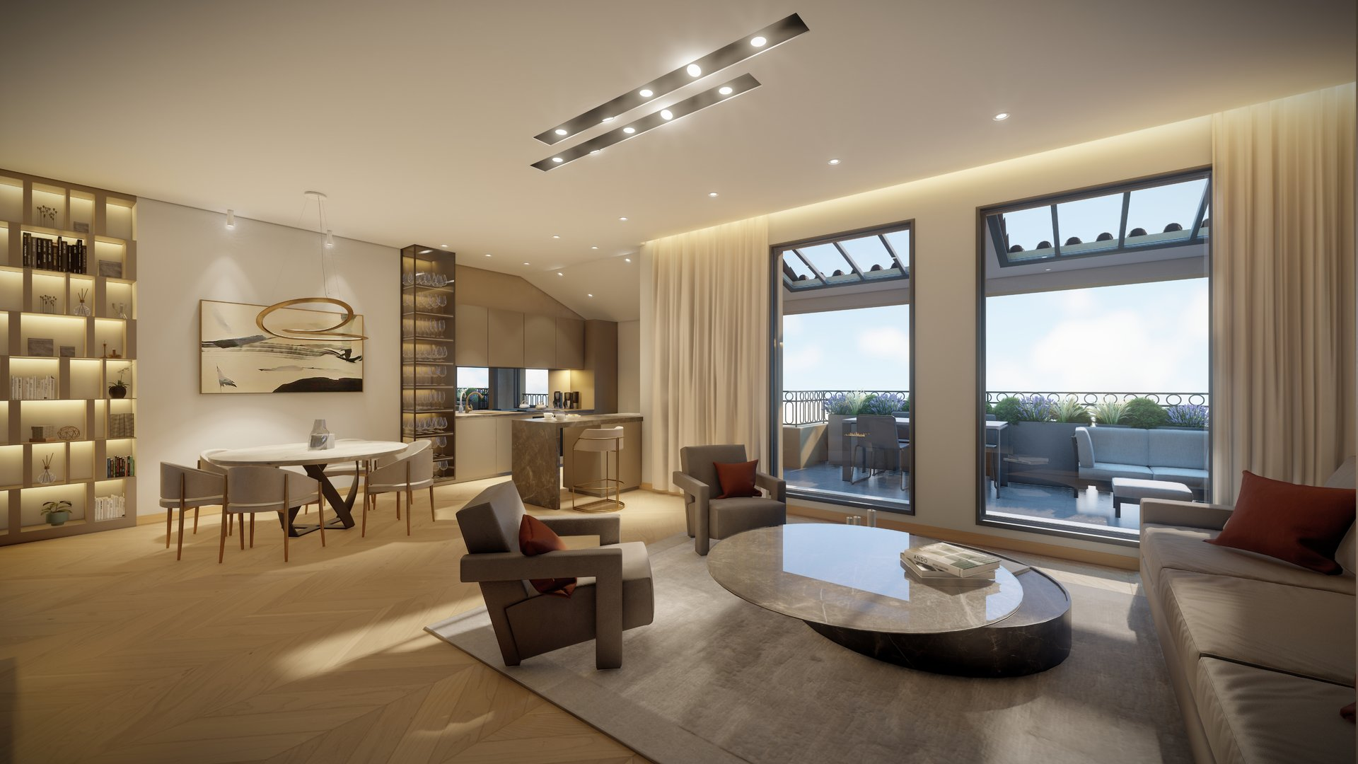 Nice Massingy - Penthouse 3 Bedrooms - Terrace