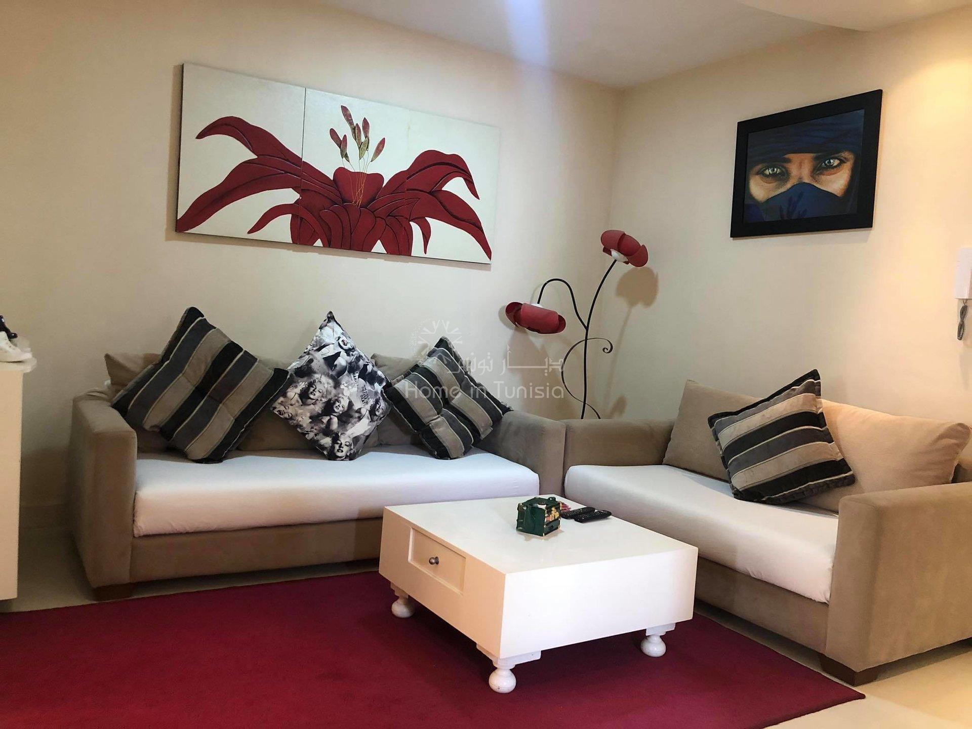 Appartement richement meublé