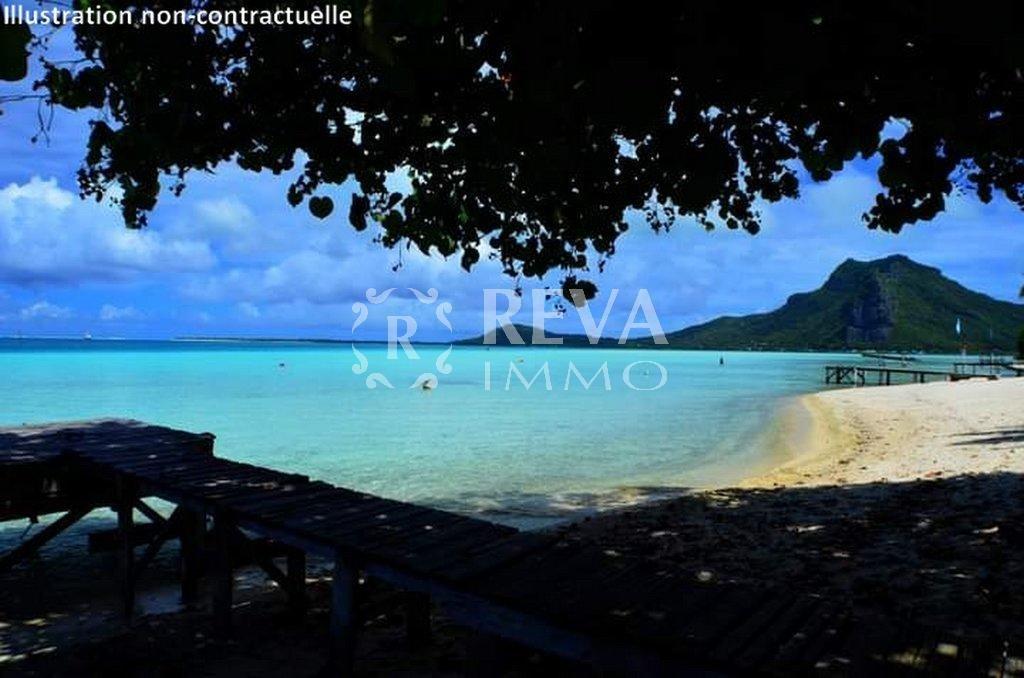Sale Plot of land - Maupiti - French Polynesia