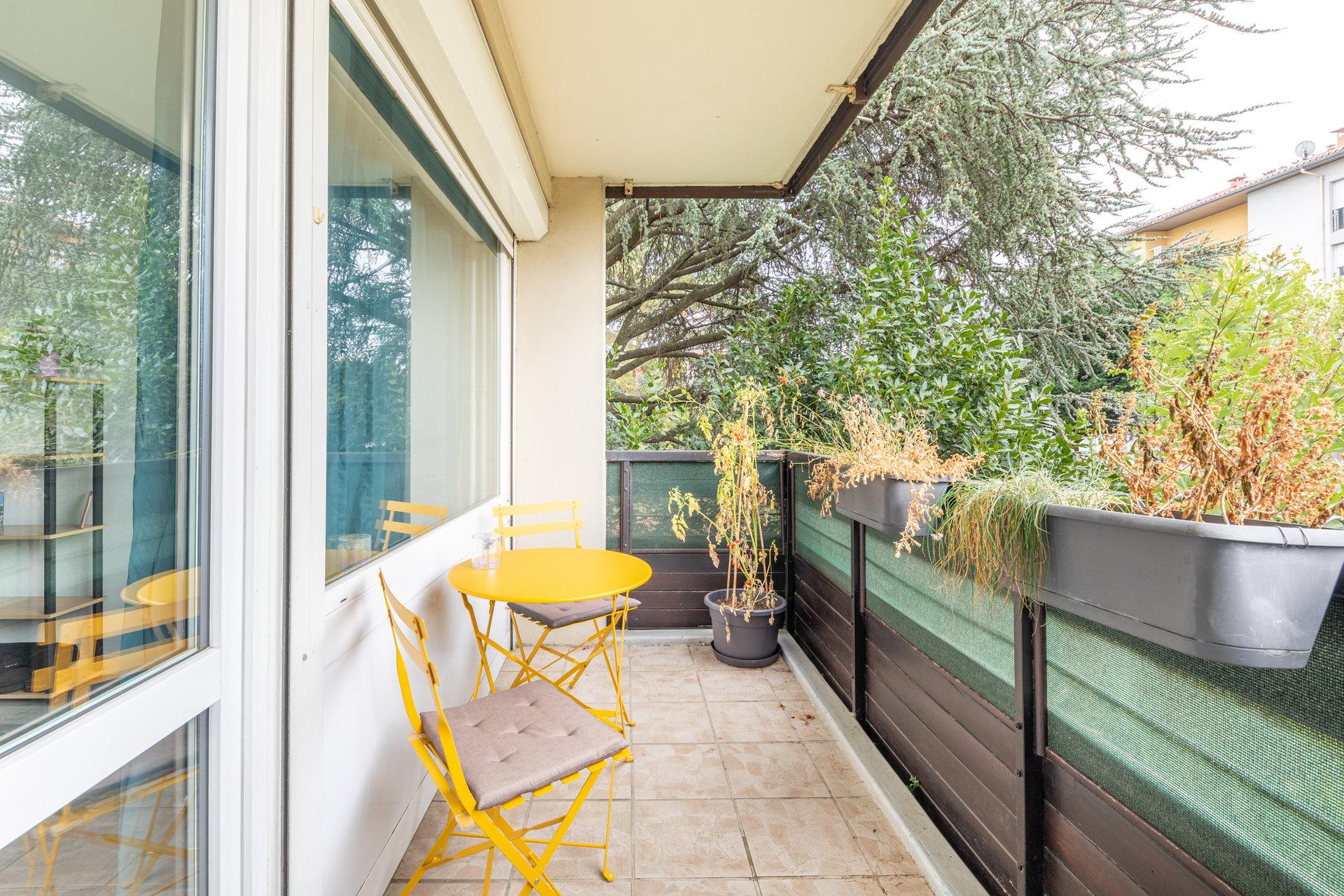 Appartement de 75 m² avec balcon, garage et cave
