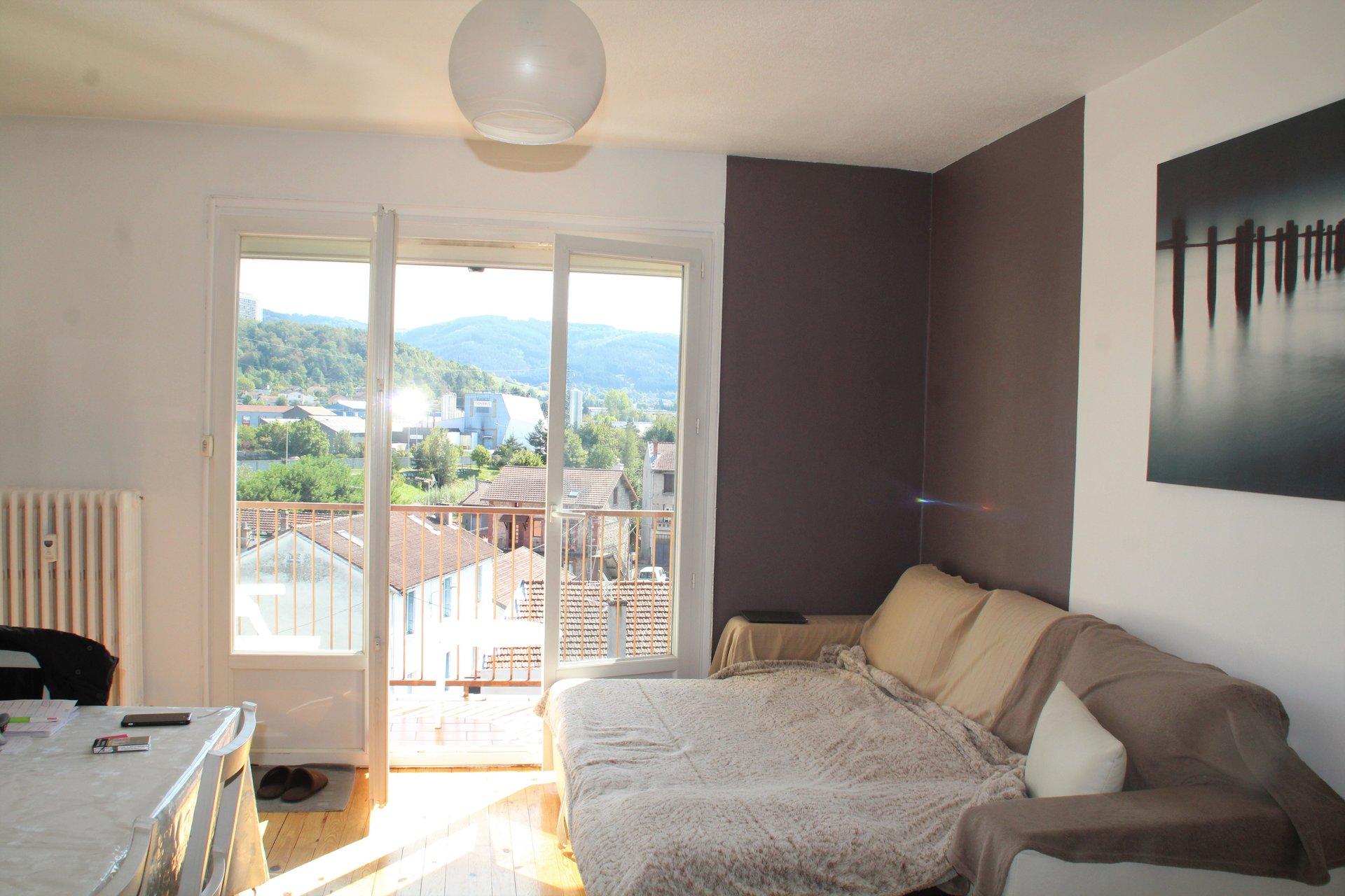 Appartement T3 58m² avec Balcon et Garage