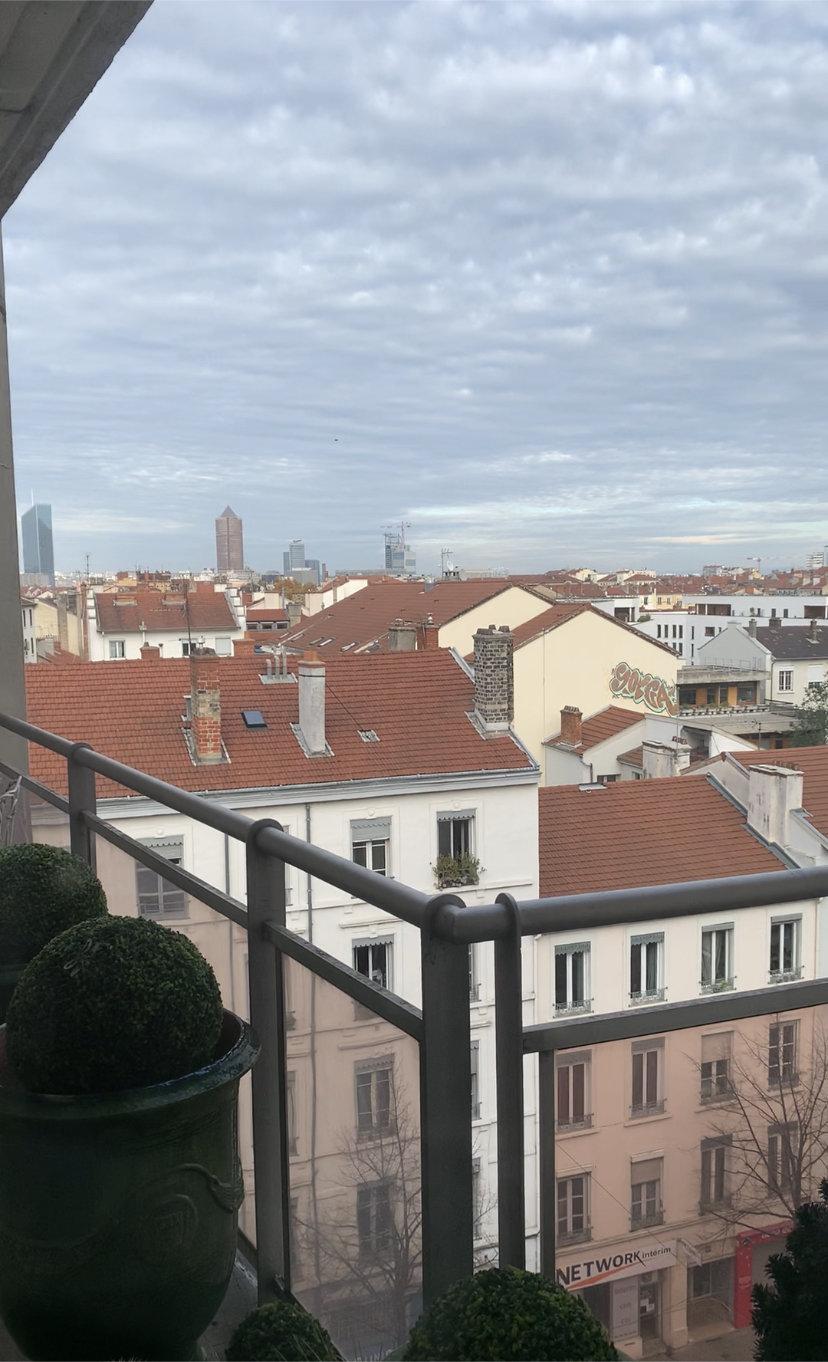 LYON 7  : Appartement 116,58 M2 + 8,95 M2 de balcon.