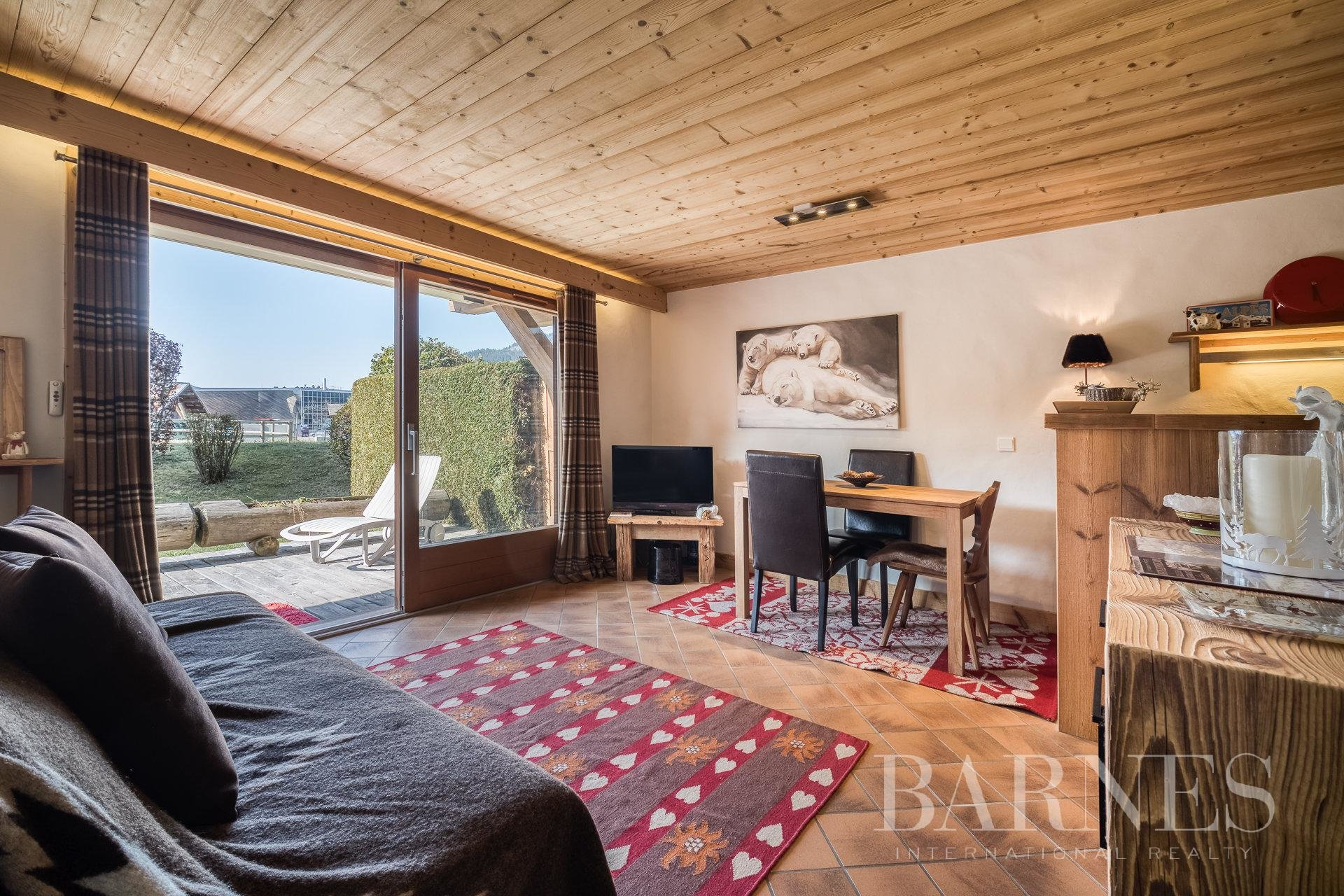 Megève centre – One-bedroom apartment with a garden and a garage Chalet in Megeve