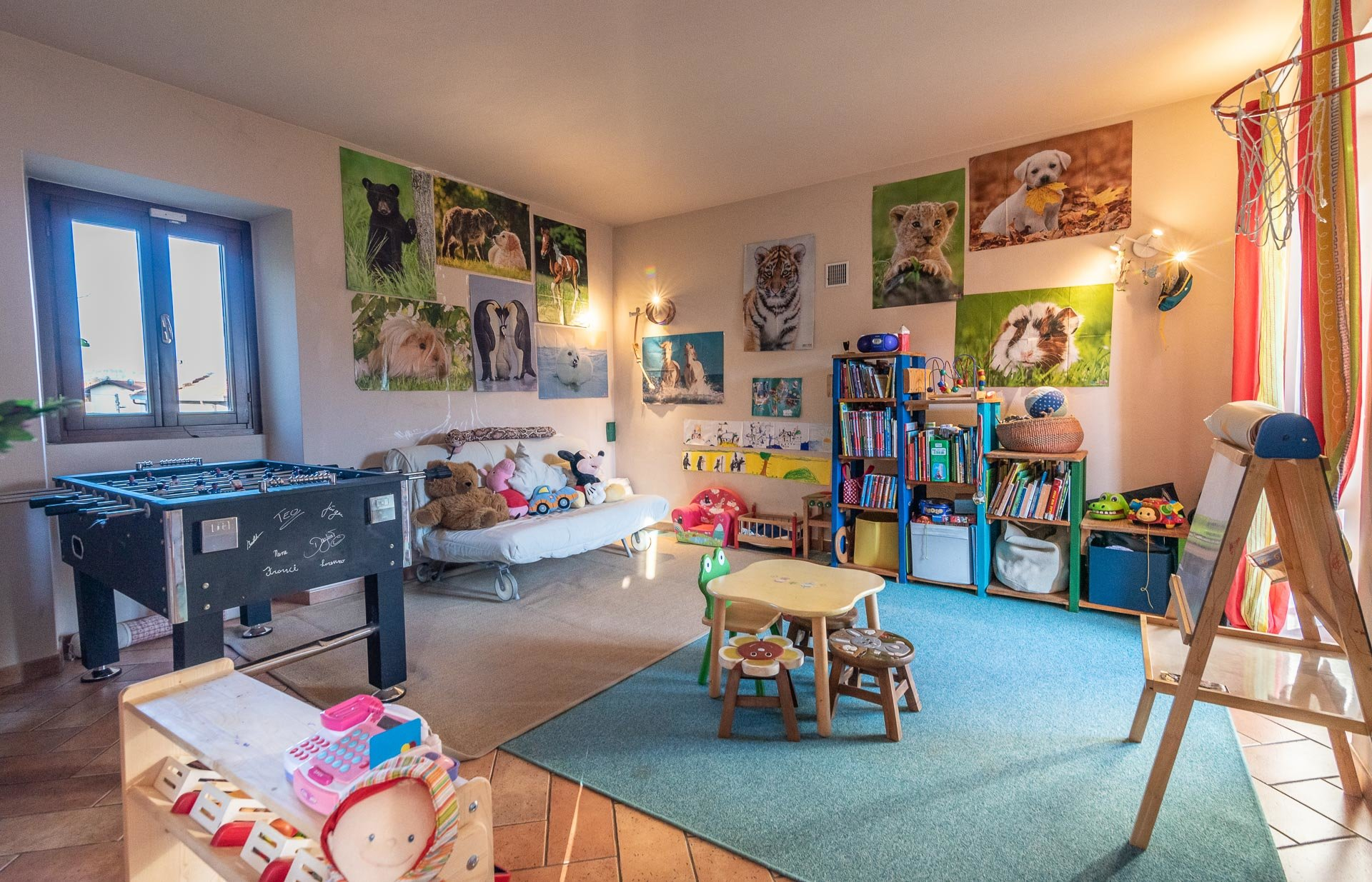 Country house for sell in Paruzzaro - kids area