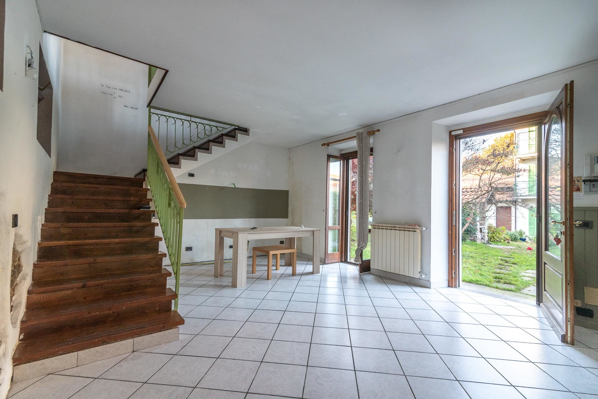 Country house for sell in Paruzzaro - entrance