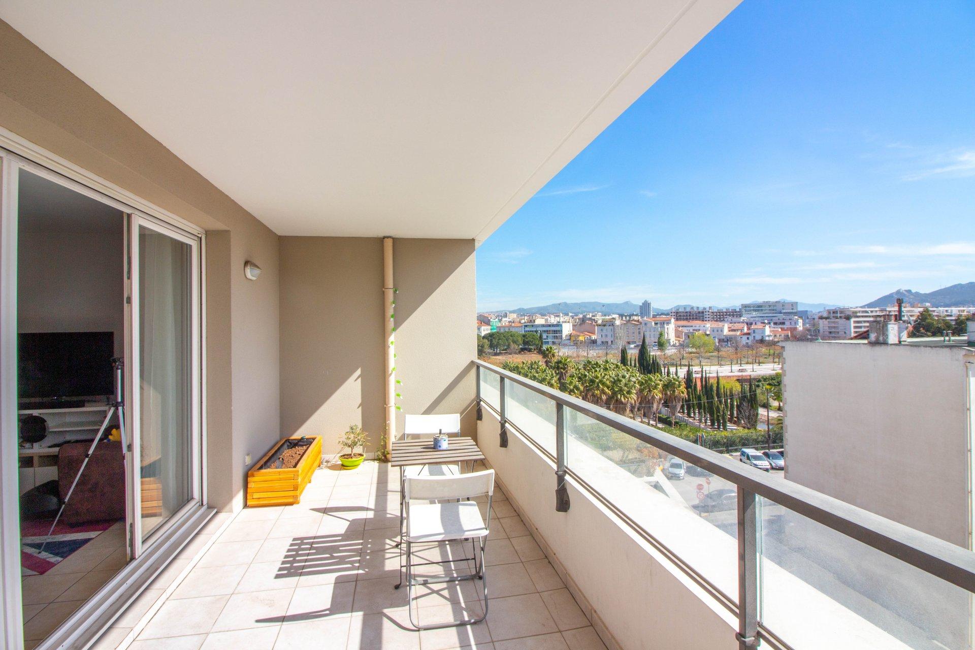LE CENTRAL - Appartement de type 4 de 84m2 avec deux terrasses