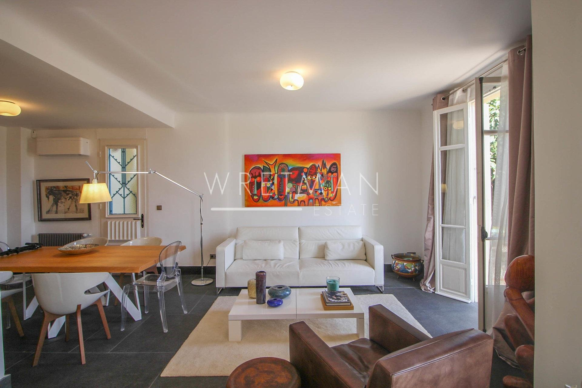 Art-deco hus med havsutsikt - St Jean Cap Ferrat
