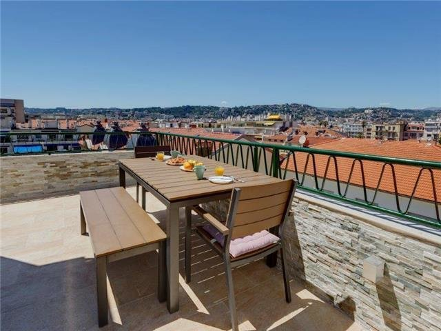 NICE CARRE D'OR - SOLE AGENT -EXCEPTIONAL PENTHOUSE RECENTLY RENOVATED