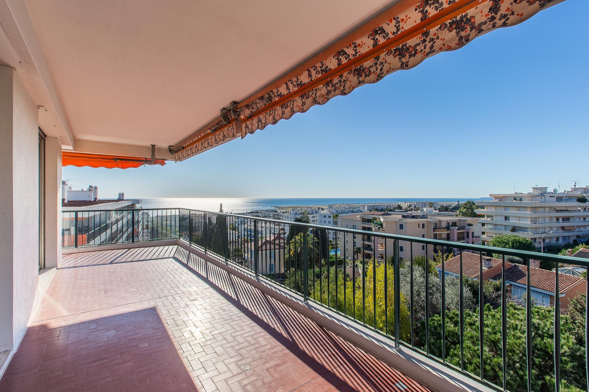 Nice- Fabron-3P-  Terrasses vue panoramique