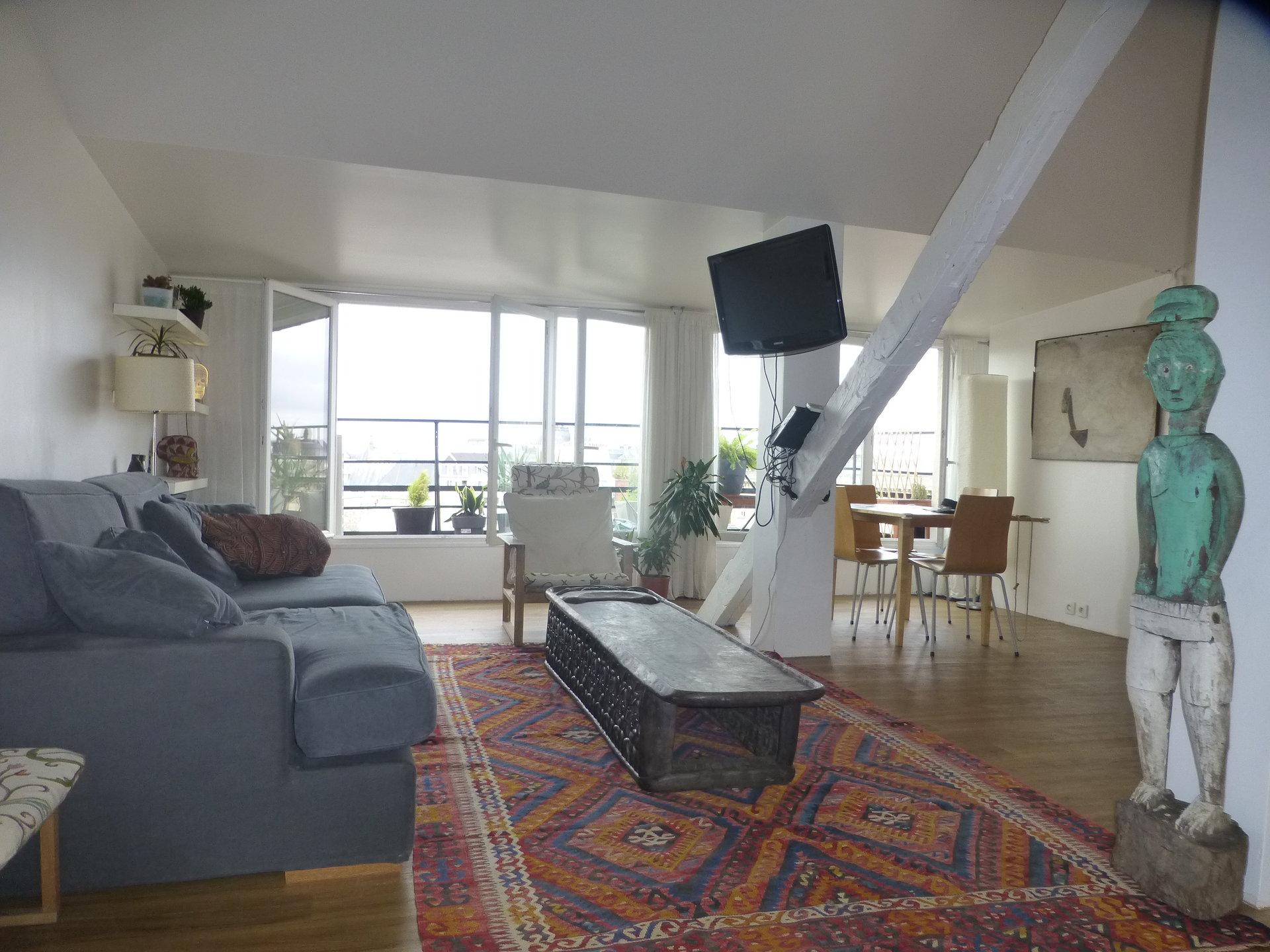 Appartement meublé 60.52 m² 75006