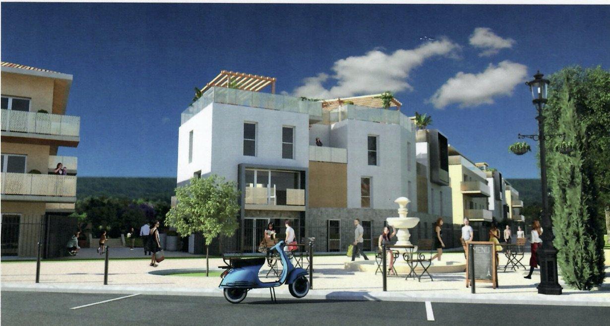 Meyreuil appartement neuf T3 R+2 avec terrasse