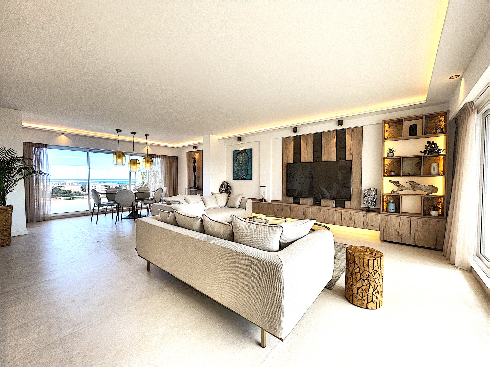 Cannes- Penthouse with sea view