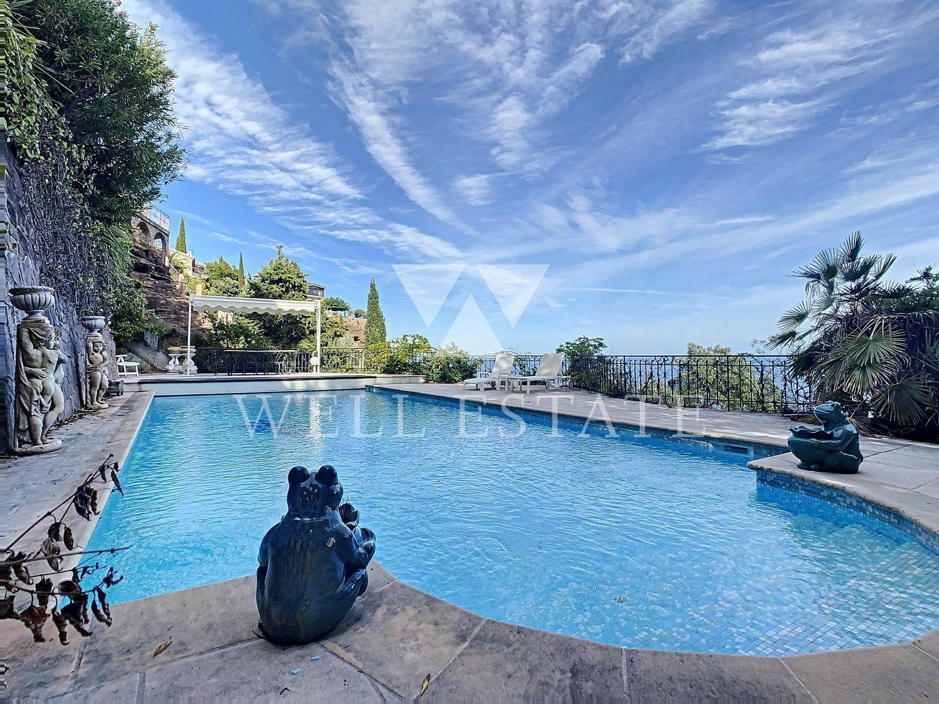 Теуль сюр мер вилла 225м2 4 спальни с бассейном и видом на море