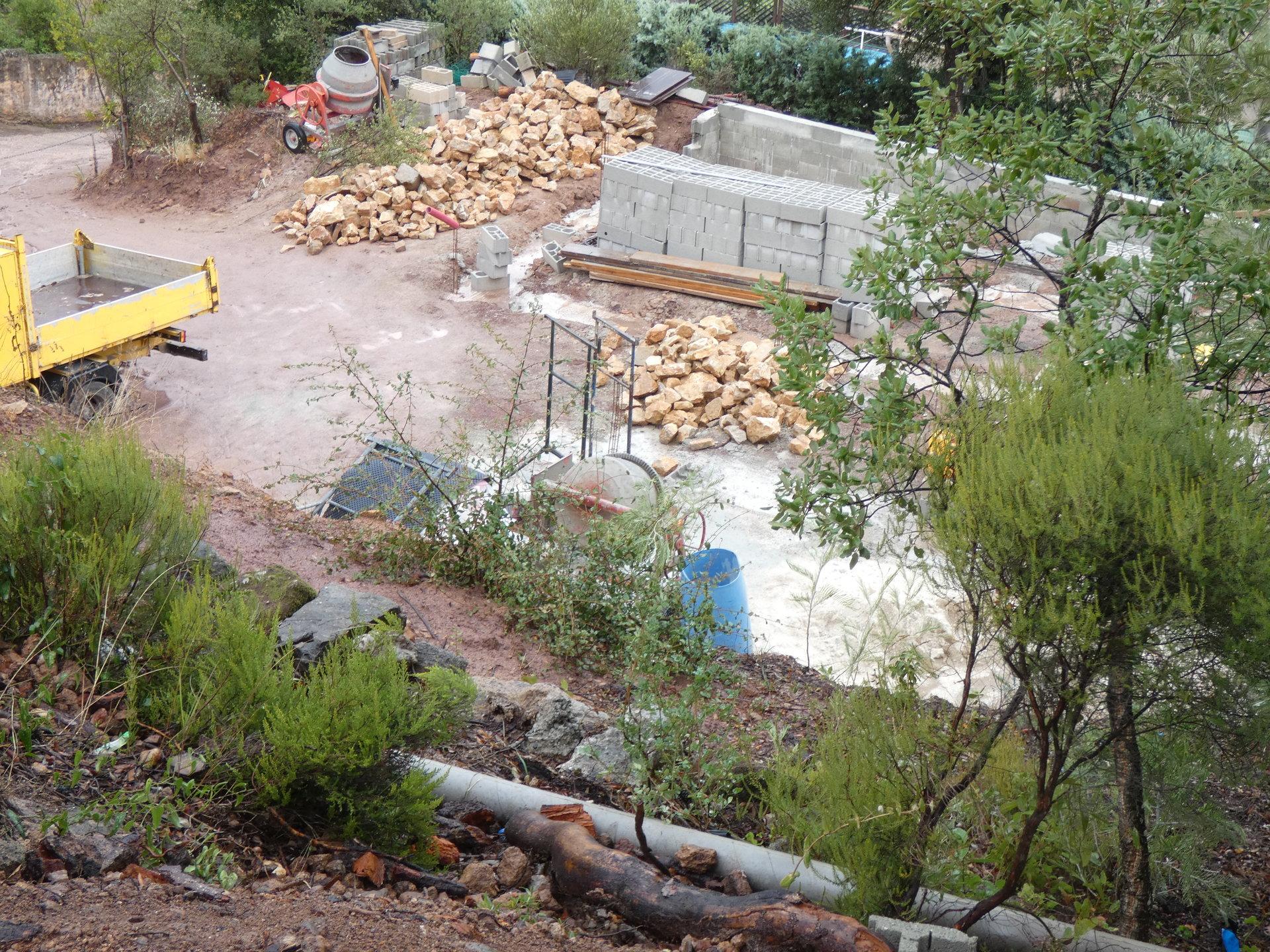 TARADEAU VILLA EN CONSTRUCTION