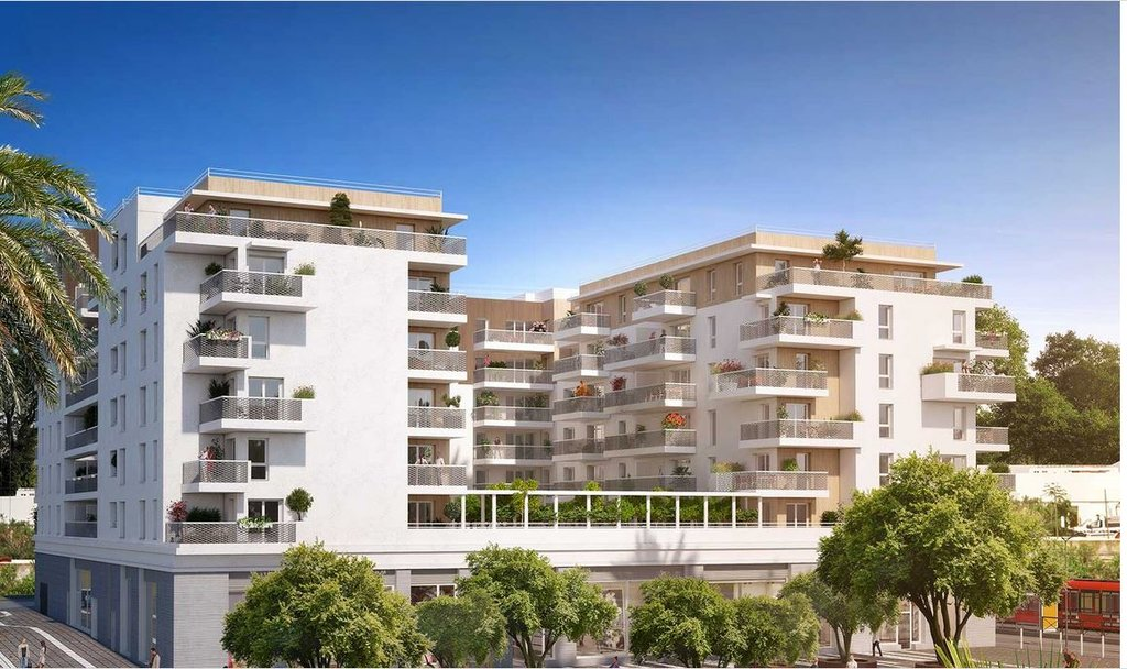 Résidence contemporaine - T3 Vauban