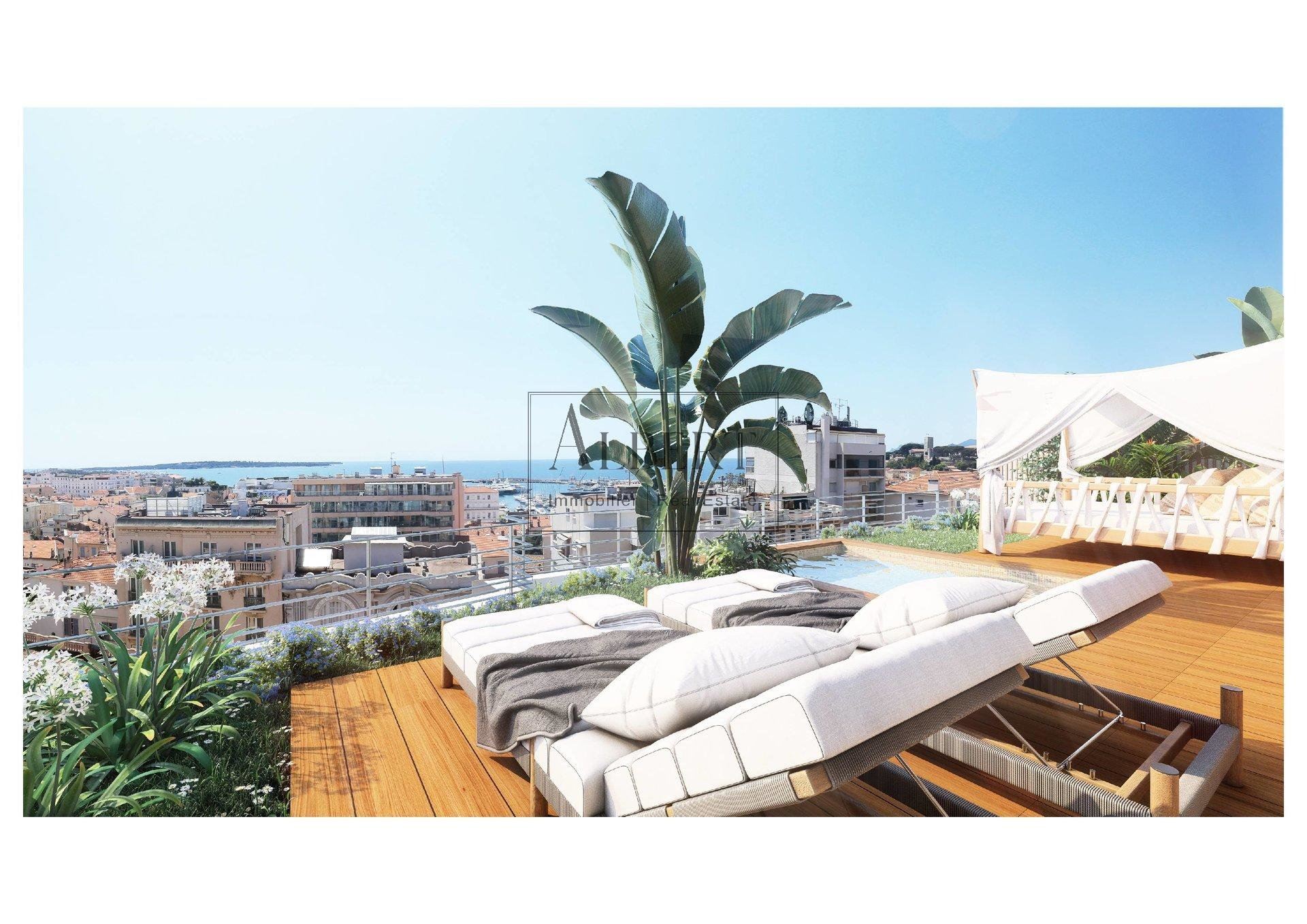 PENTHOUSE 4P SEA VIEW WALKING  DISTANCE TO PALAIS DES FESTIVALS