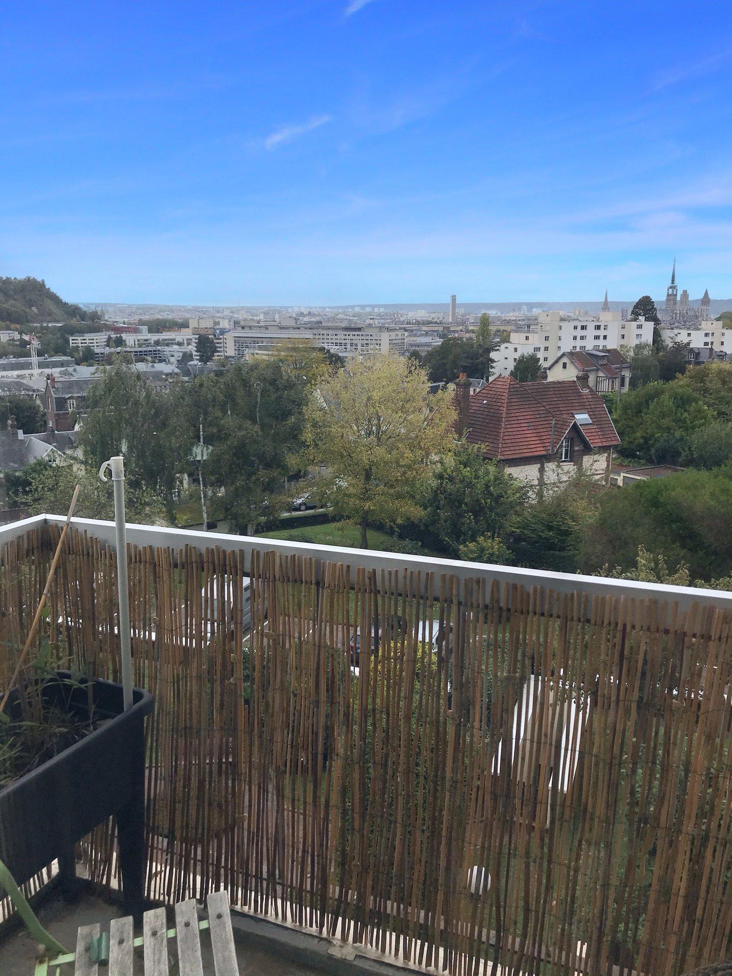T4 quartier Décroizilles avec vue sur Rouen