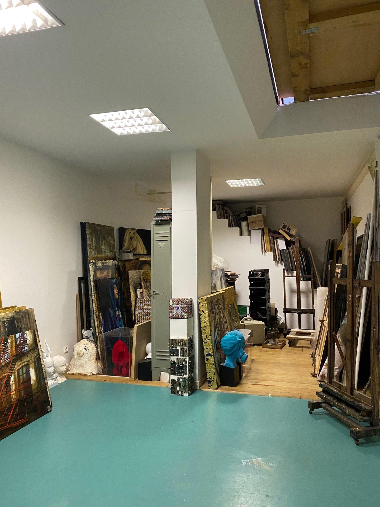 Atelier d artiste