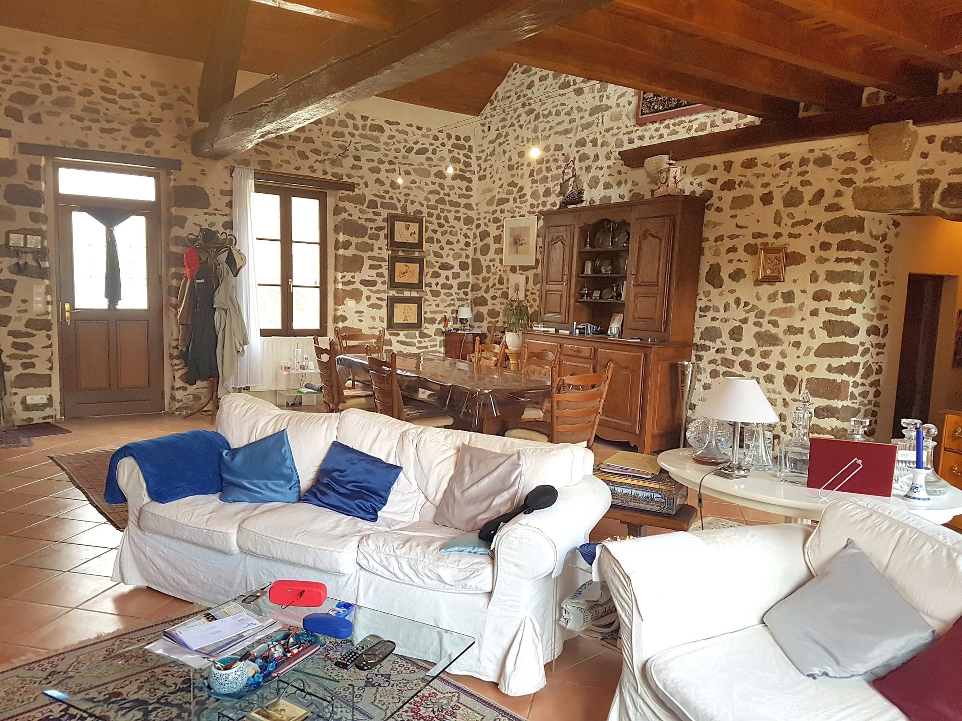 Property with gite for sale near Chaillac, La Brenne 36