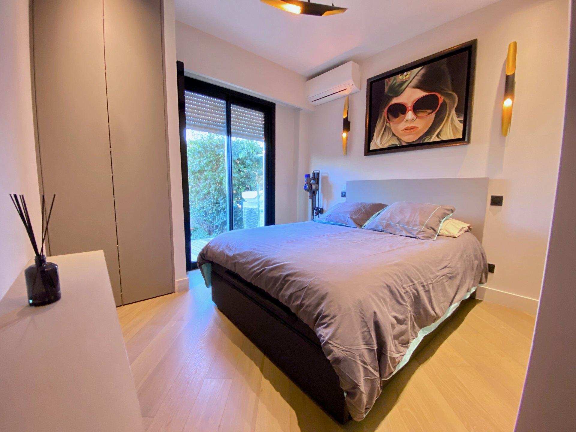 Nice Bas cimez - Wonderfull 2 bedrooms with garden