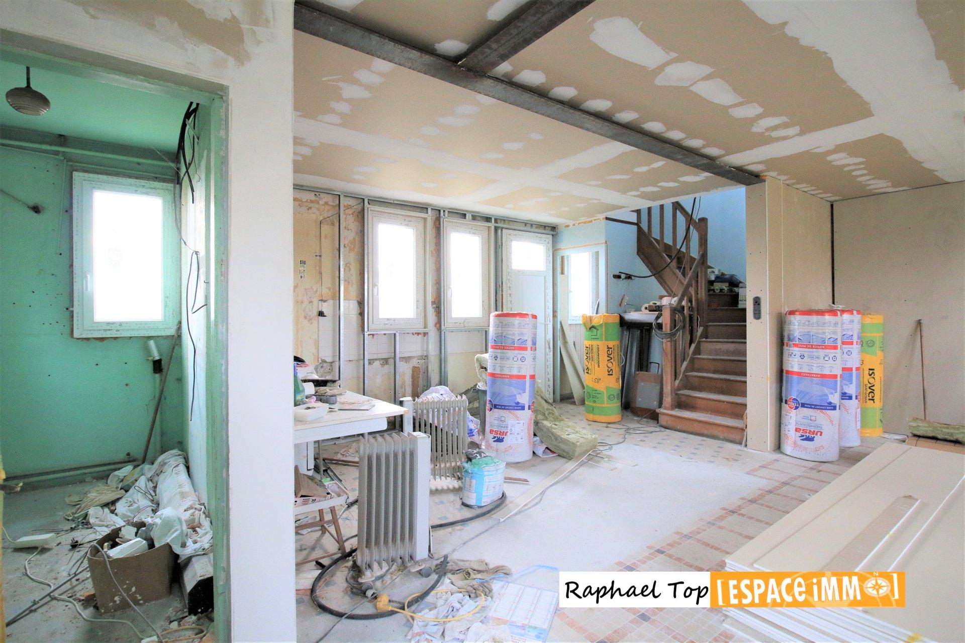 Maison 4 pièces à rénover