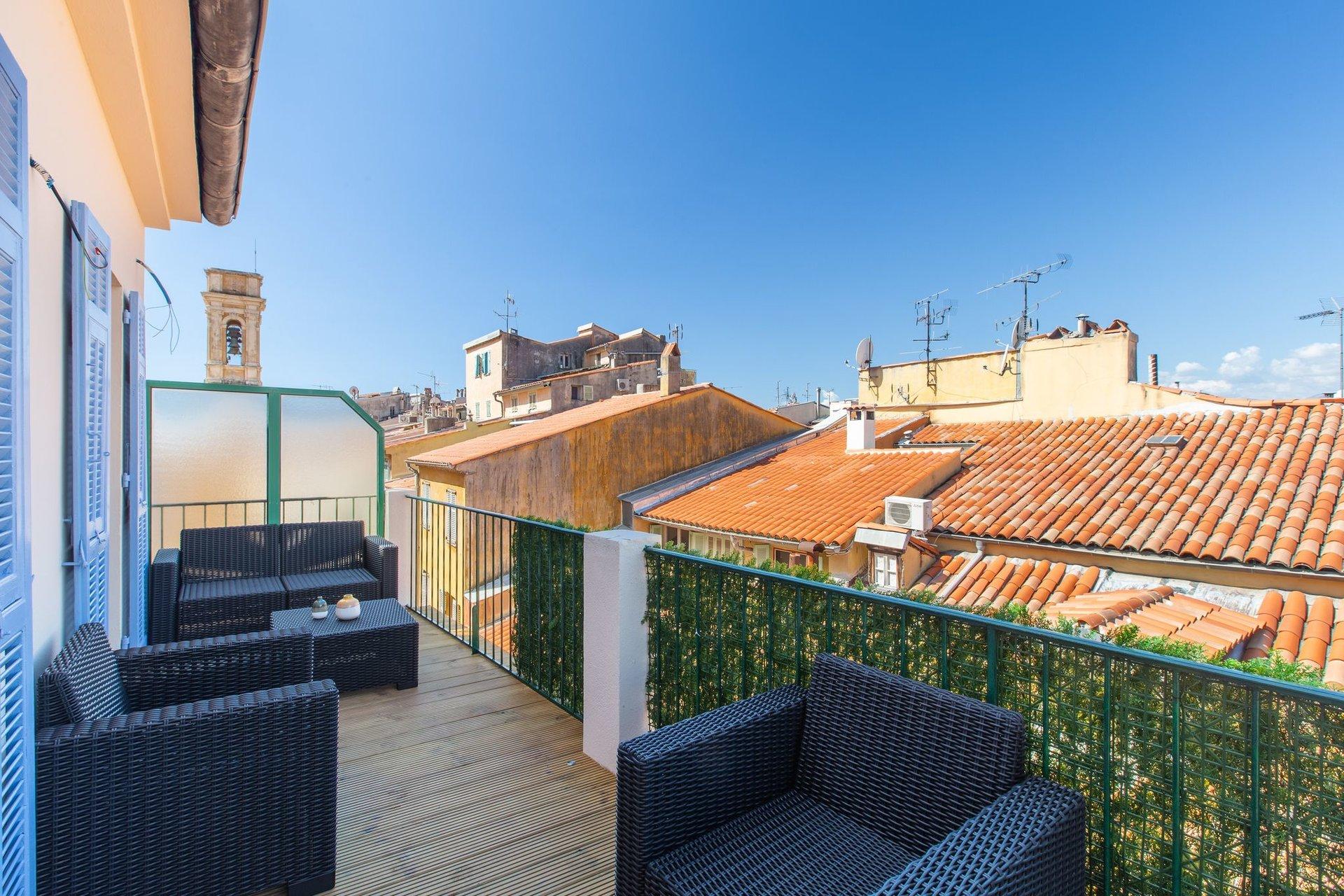 sublime appartement dernier étage  terrasse