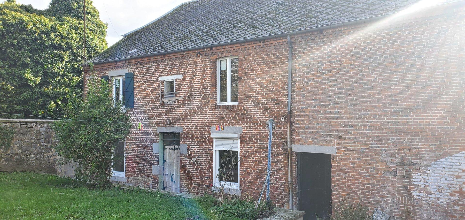 maison individuelle avec grange - GLAGEON