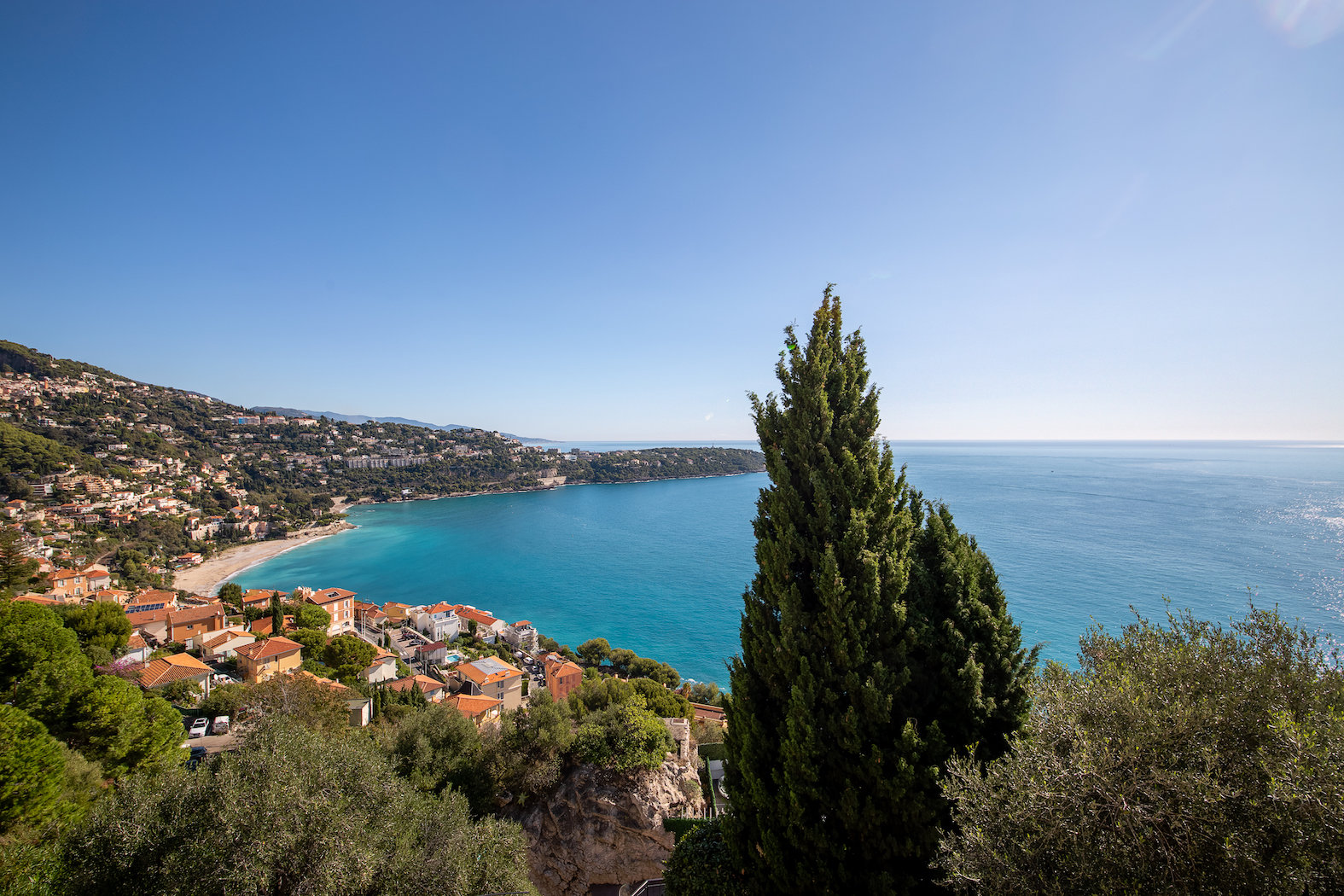Villa Roquebrune Cap Martin - Vue Mer