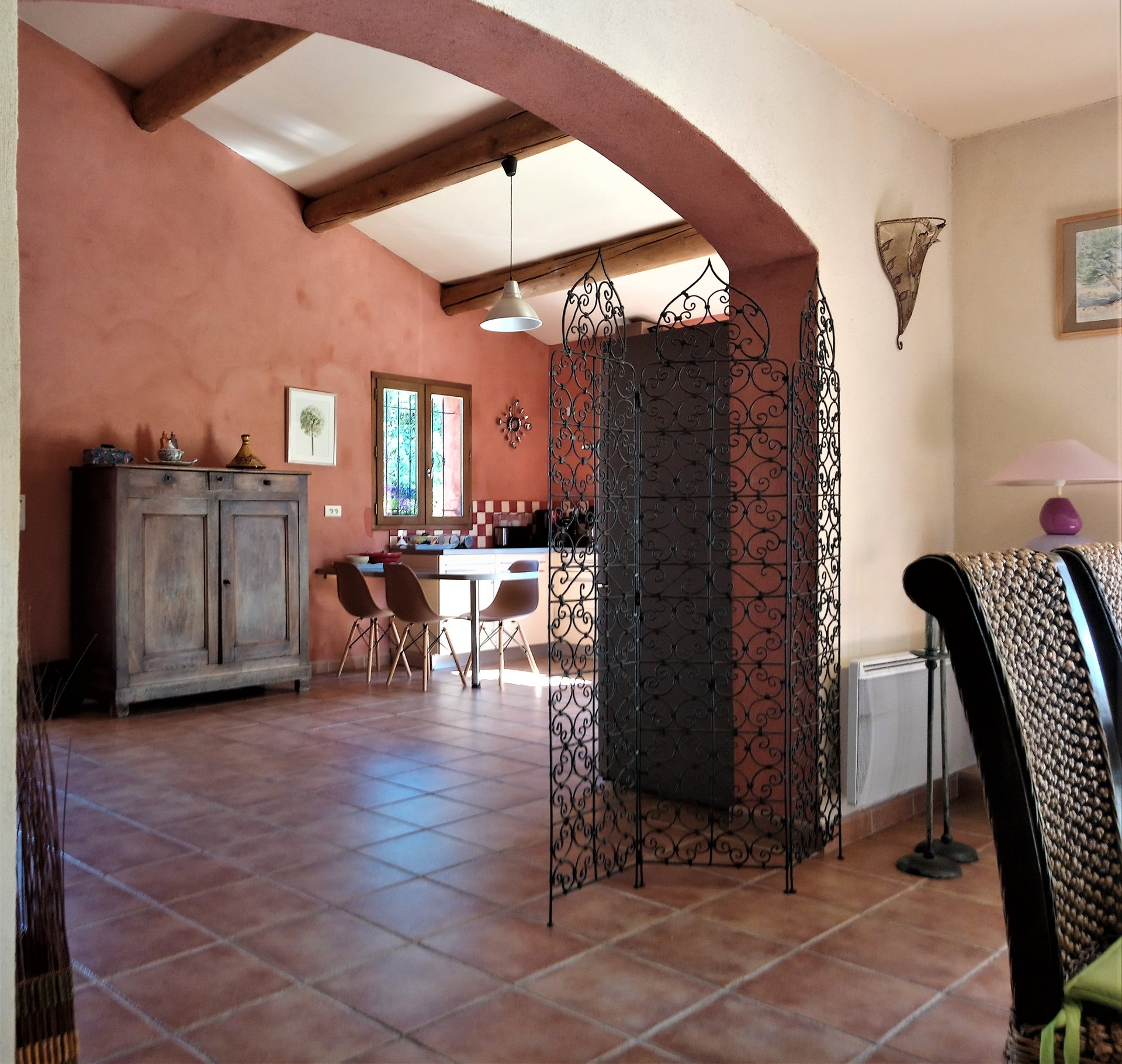 Large house of 165 m² Mediterranean style built on a plot of 1500 m².