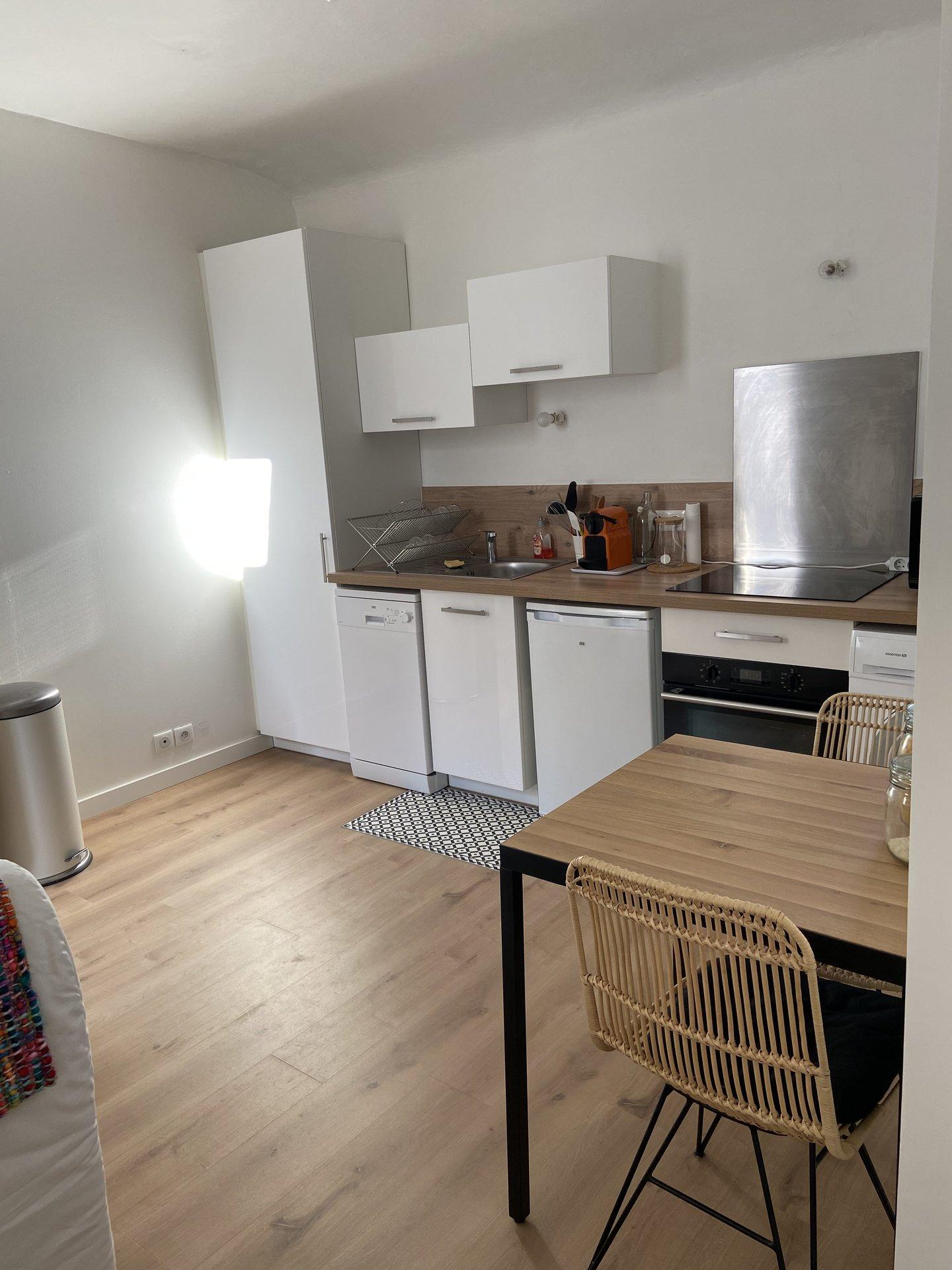 Appartement T2 meublé 28 m² 13006