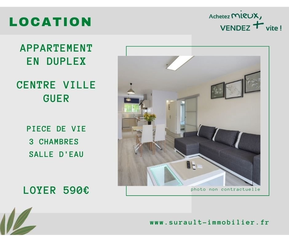 Location Appartement - Guer