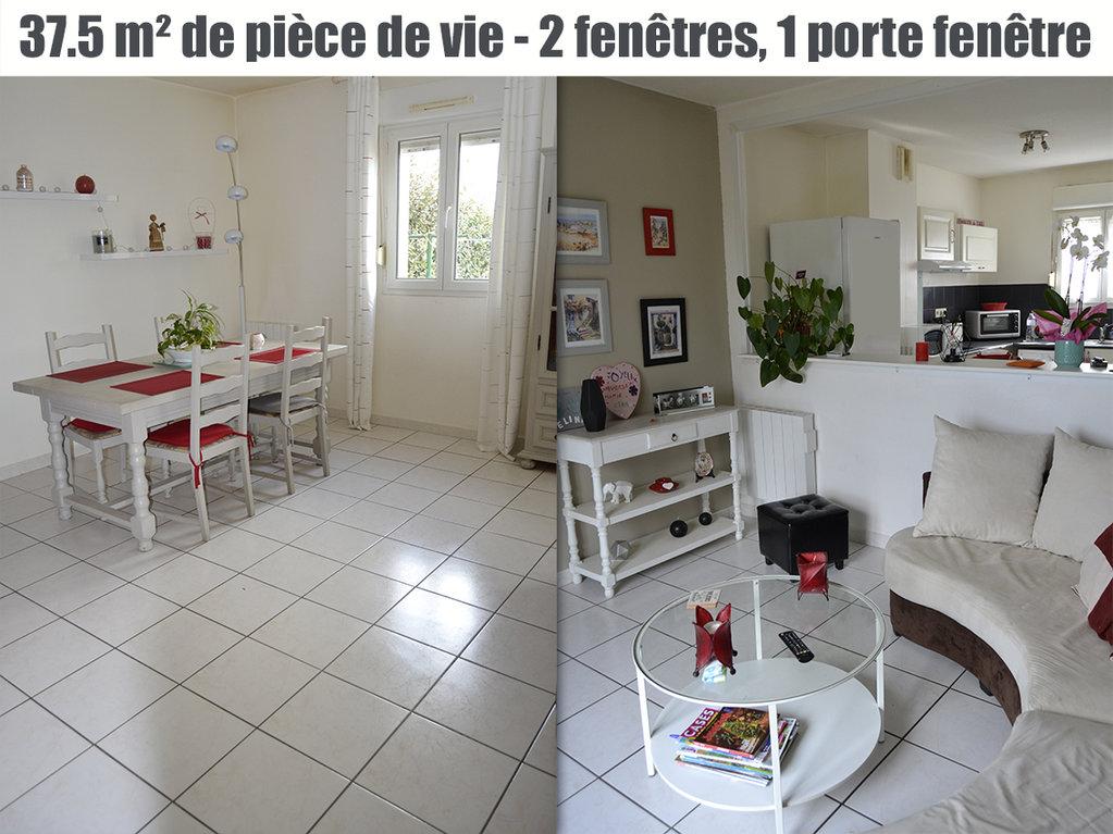 Villa T4 + jardinet + garage - Résidence sécurisée