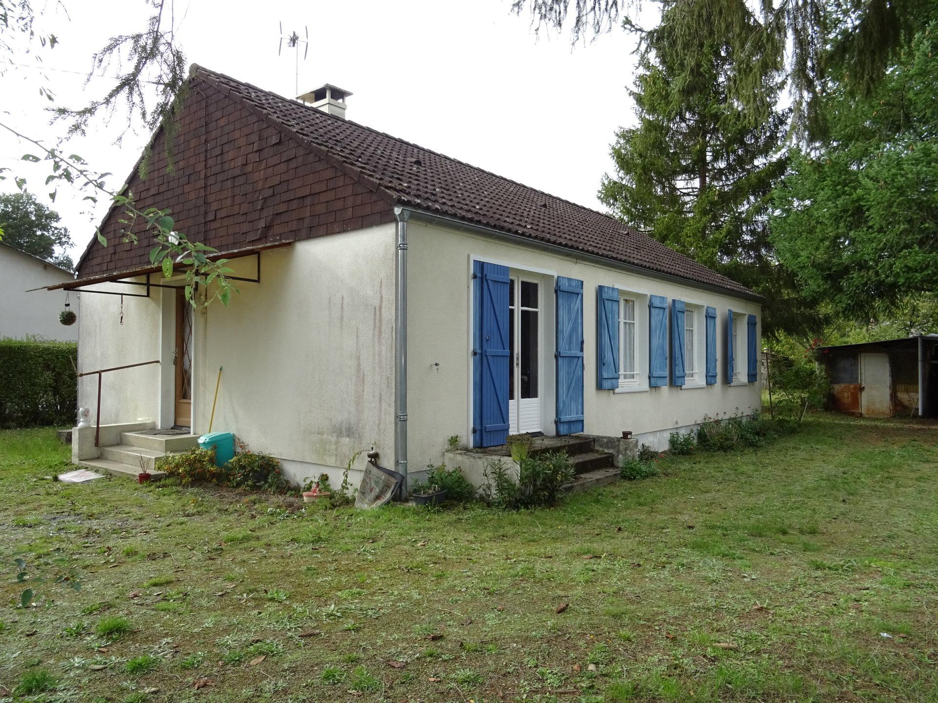 Maison de plain-pied - Côté CHER