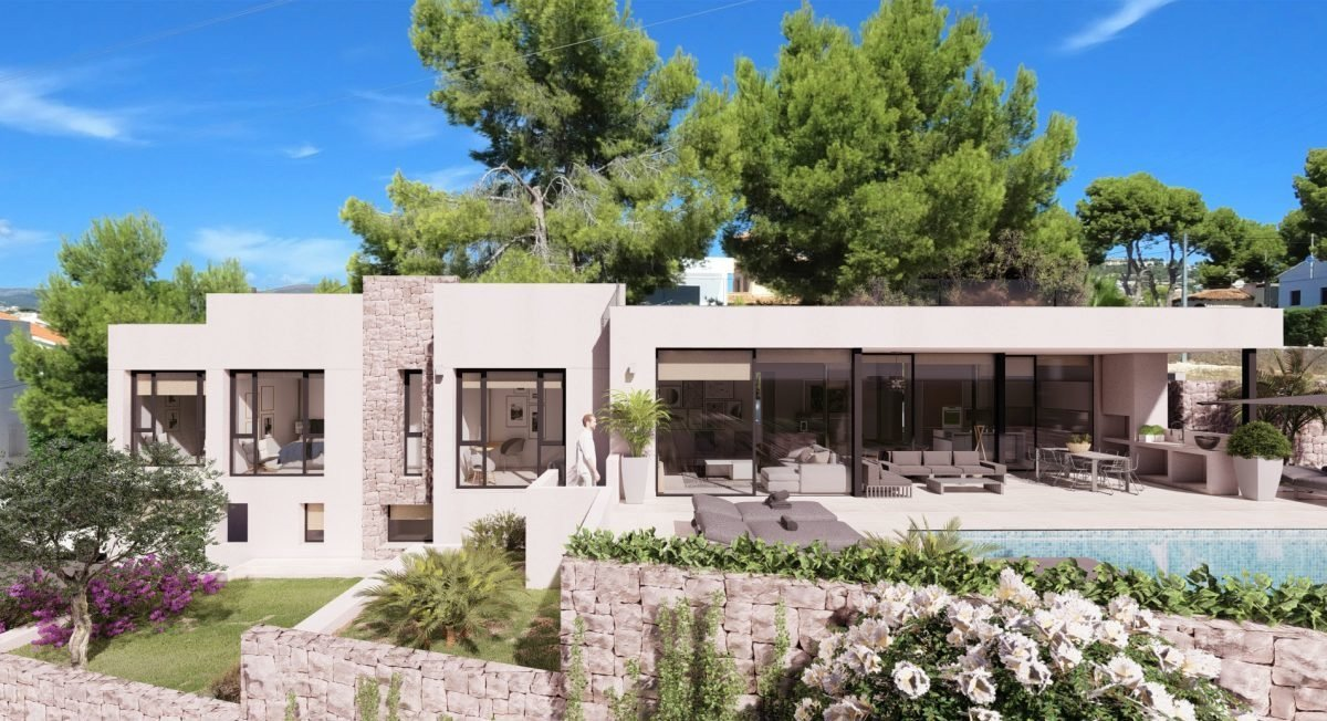 Modern villa close to the beach in Calpe