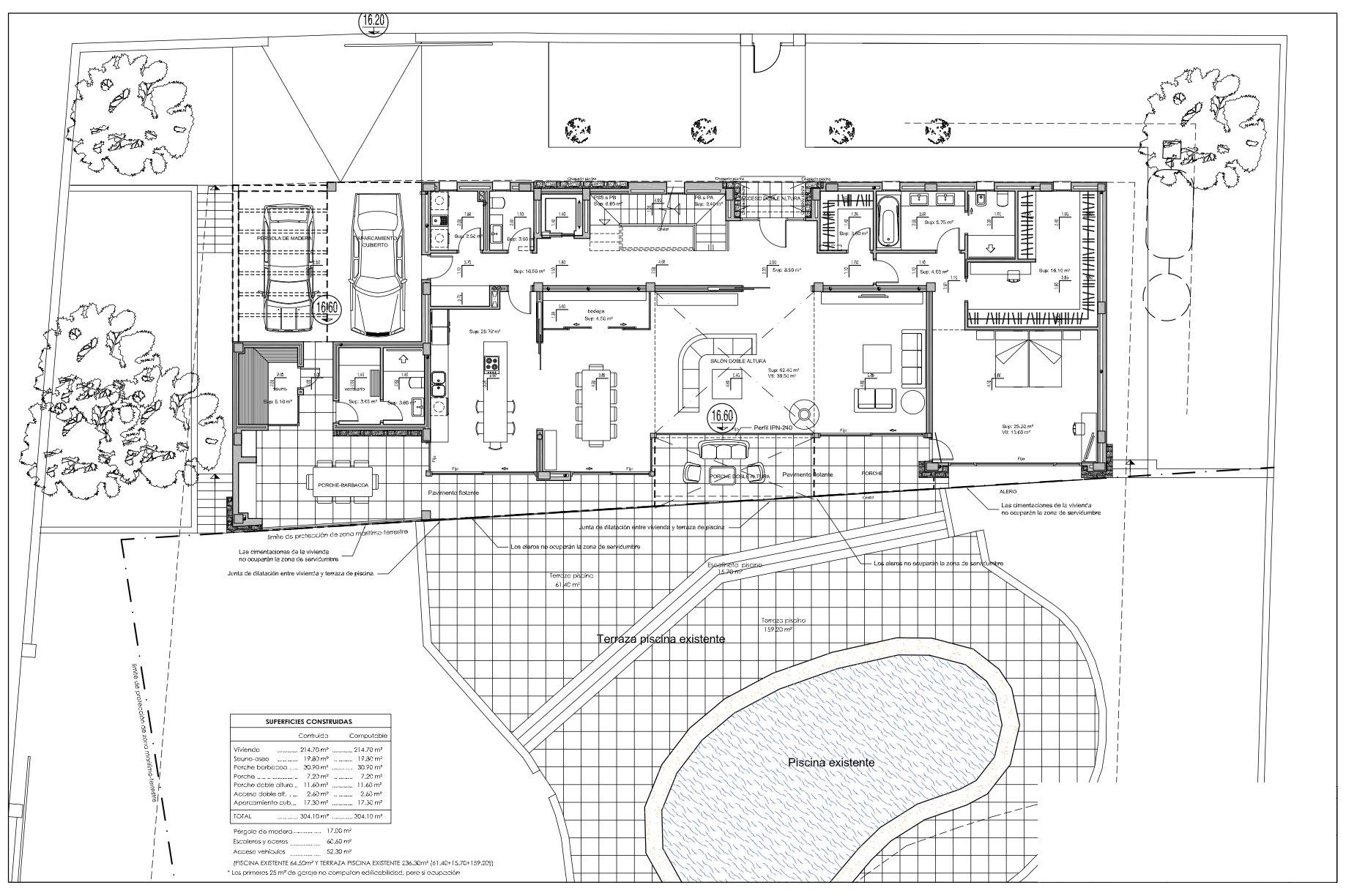 Eerste lijns villa in Calpe