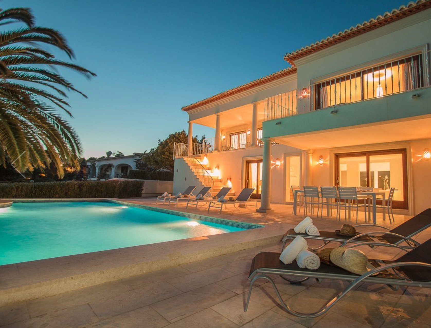 Luxurious villa on first line with panoramic views