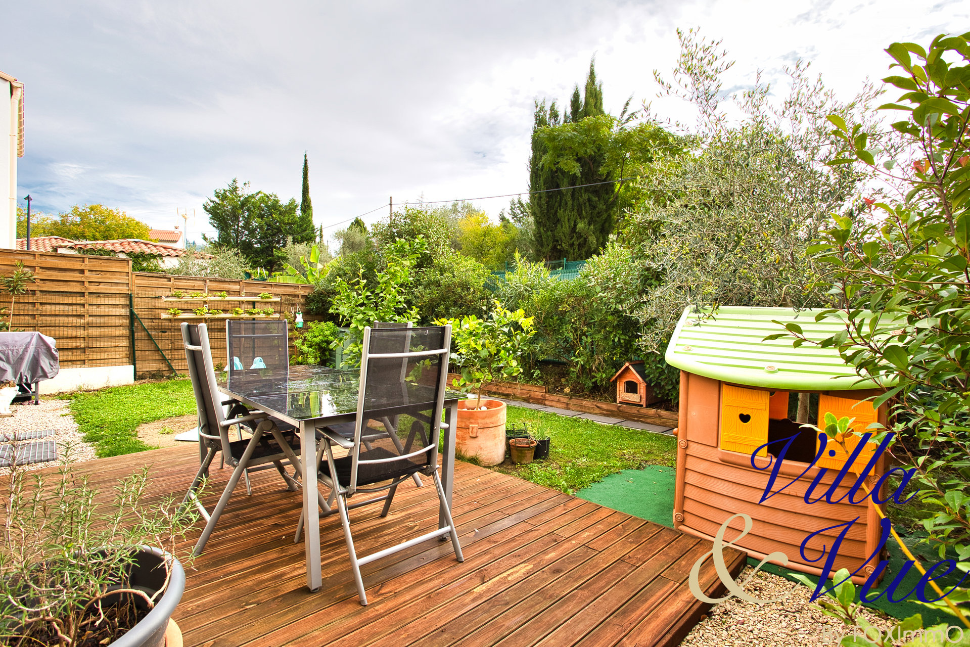 SOLD - Villa 3P 68.20 m² with private garden and garage