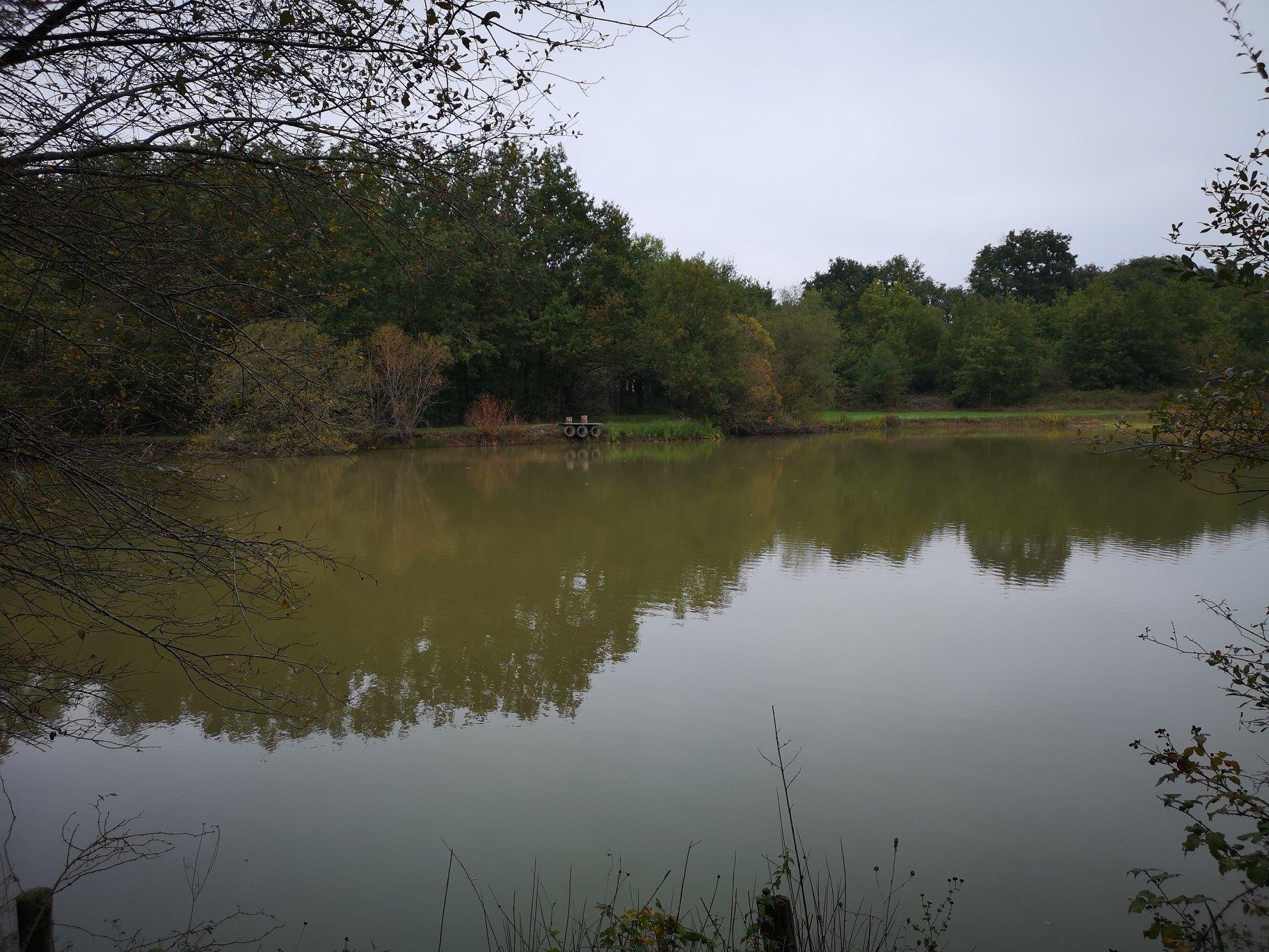 Propriété de chasse avec étang