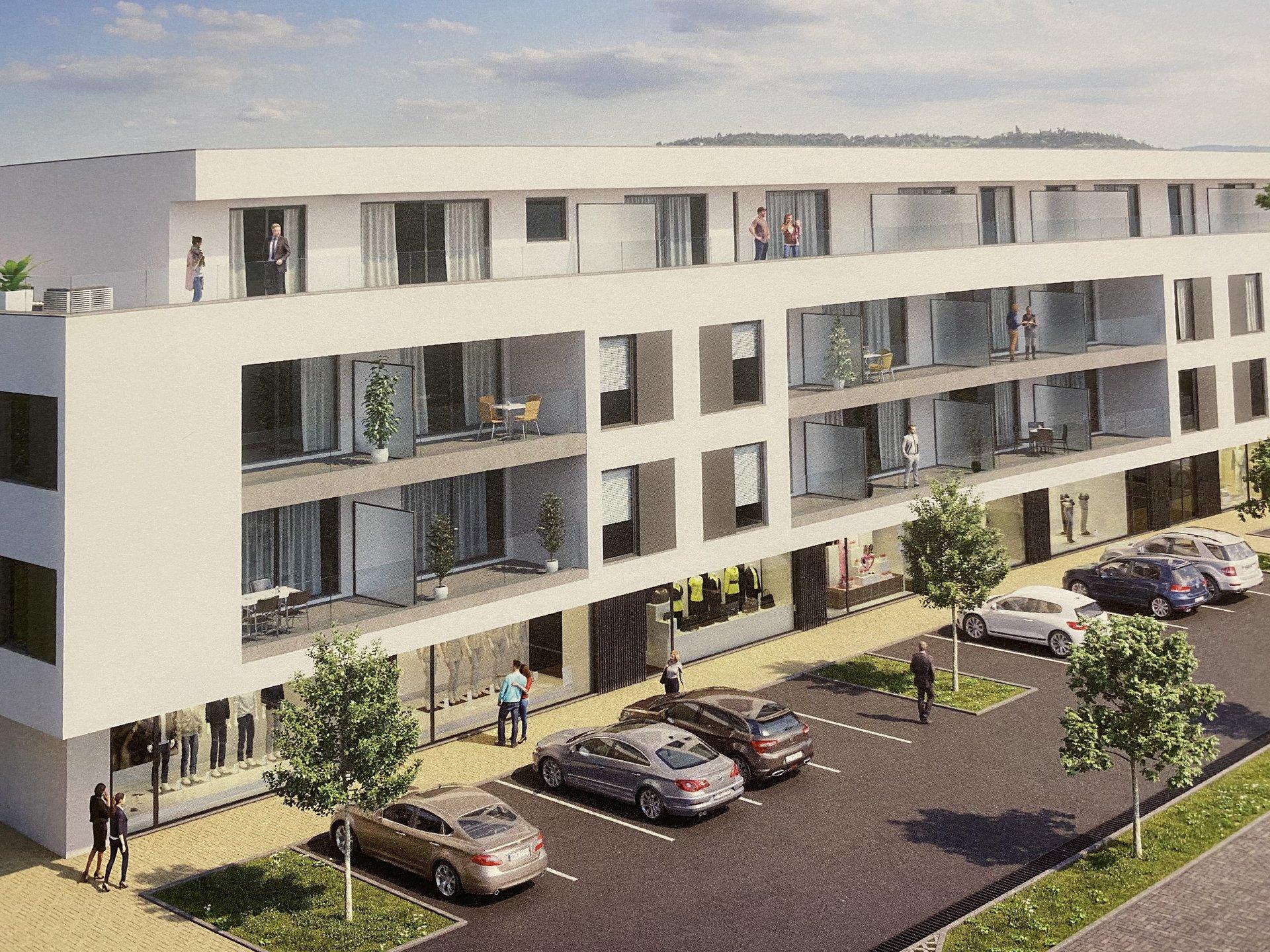 Hesperange Centre - Appartement à deux chambres