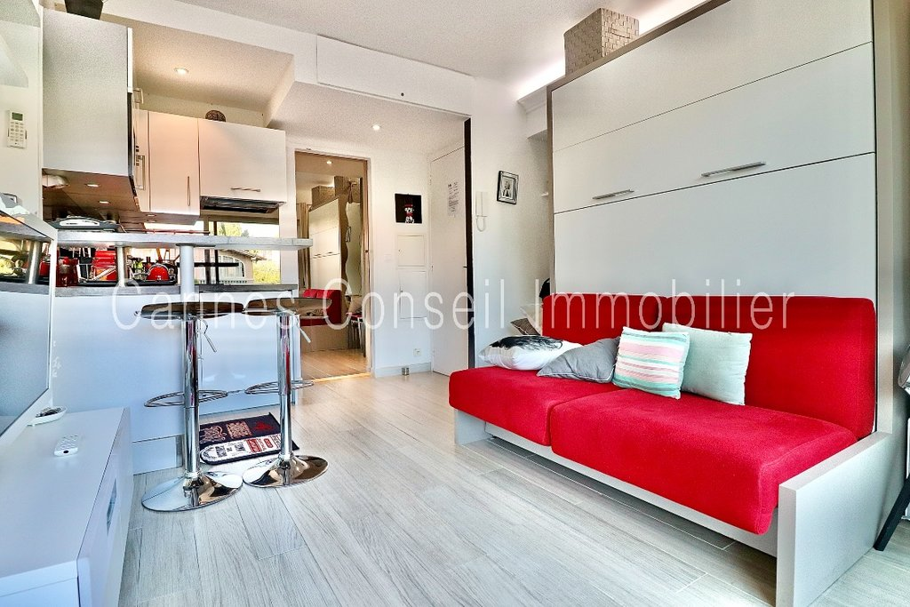 Cannes Petit Juas, Studio terrasse, 3ème étage, Belle vue
