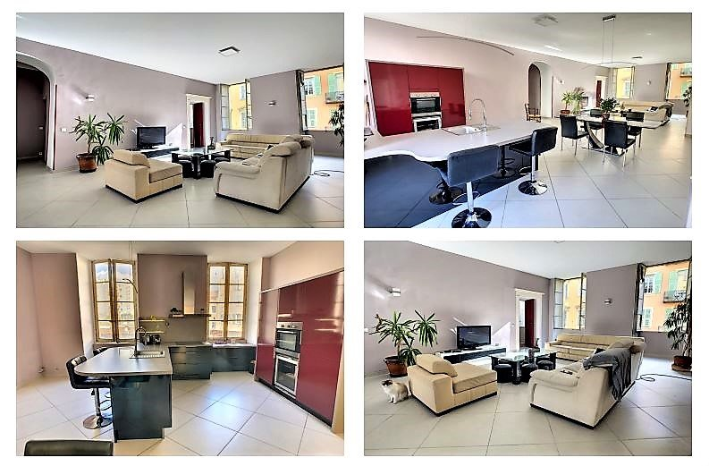 Nice le Port, 3/4P rue Cassini 106 m²
