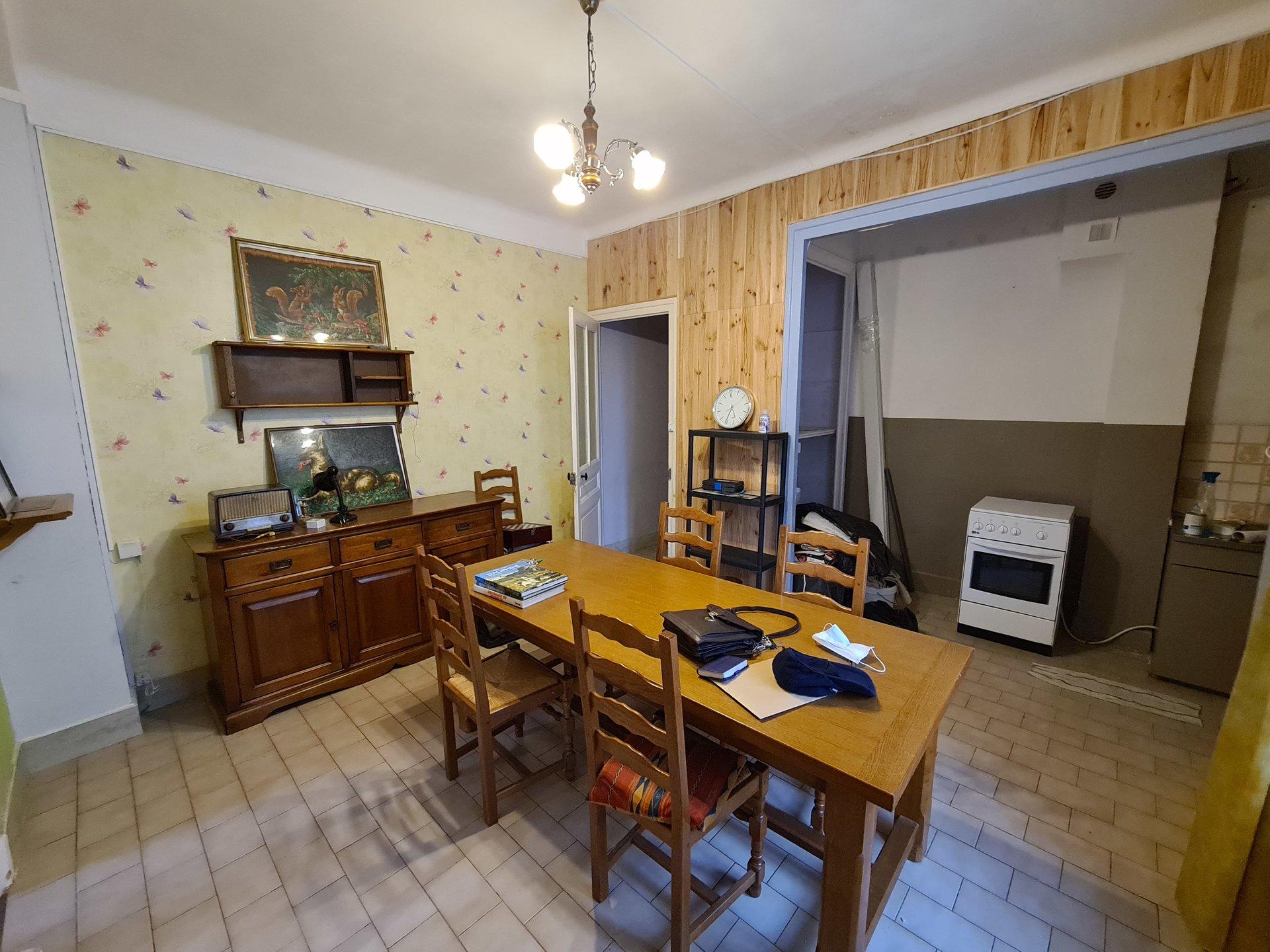 VIENNE NORD, Appartement T3 de 49,5m² avec balcon et cave