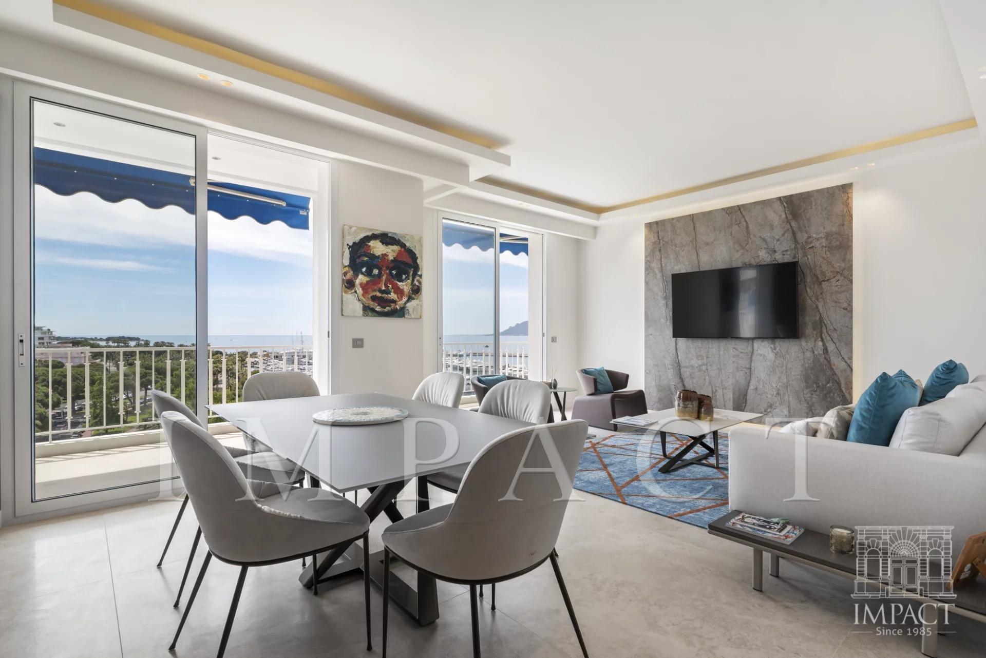 Penthouse for sale Croisette Port Canto