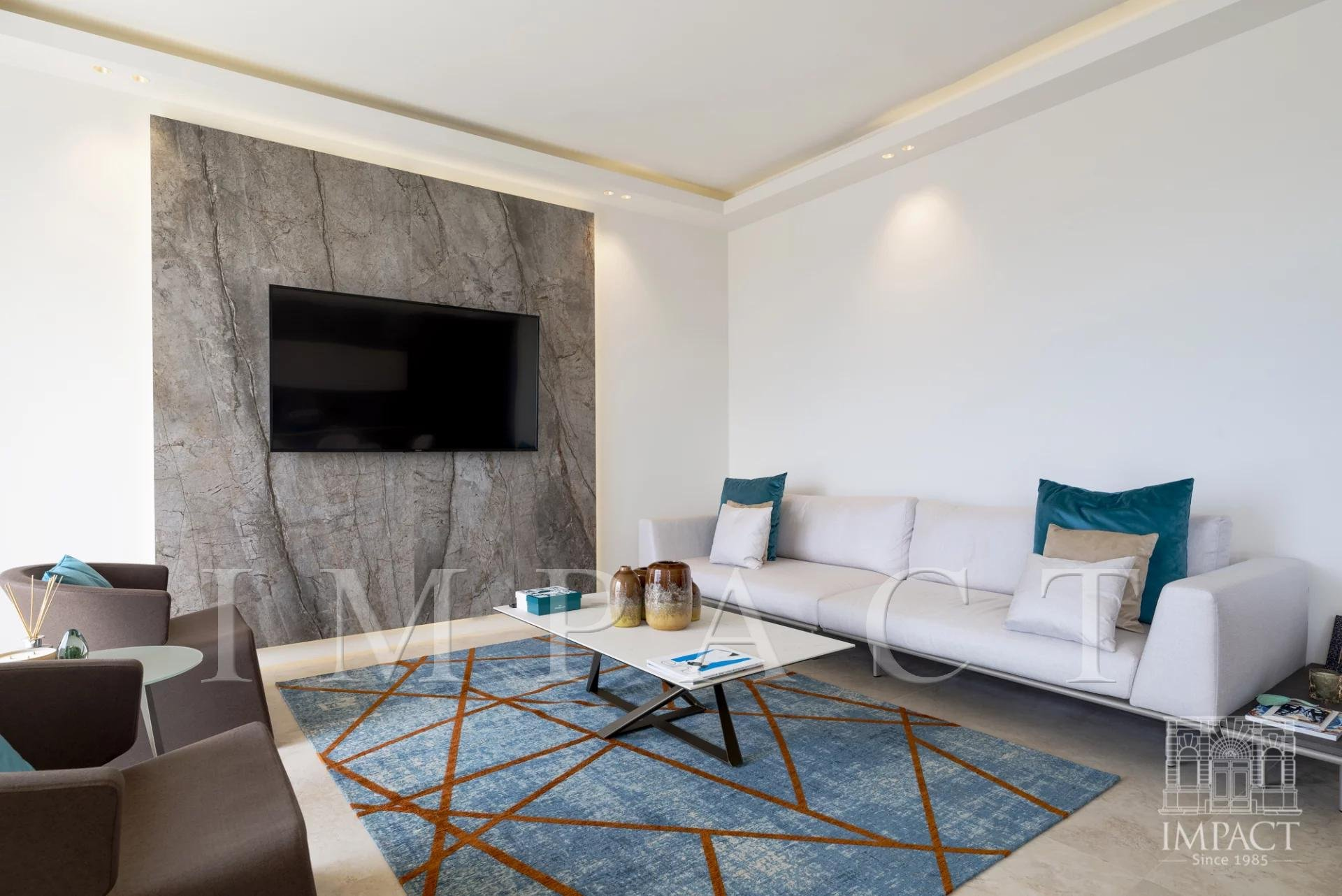 Penthouse sea view for sale Cannes Croisette