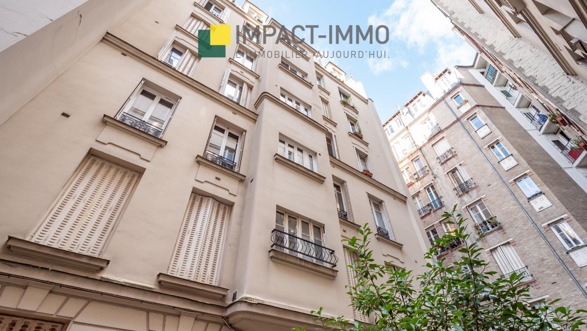 SQUARE DES EPINETTES - STUDIO - PARIS 17E